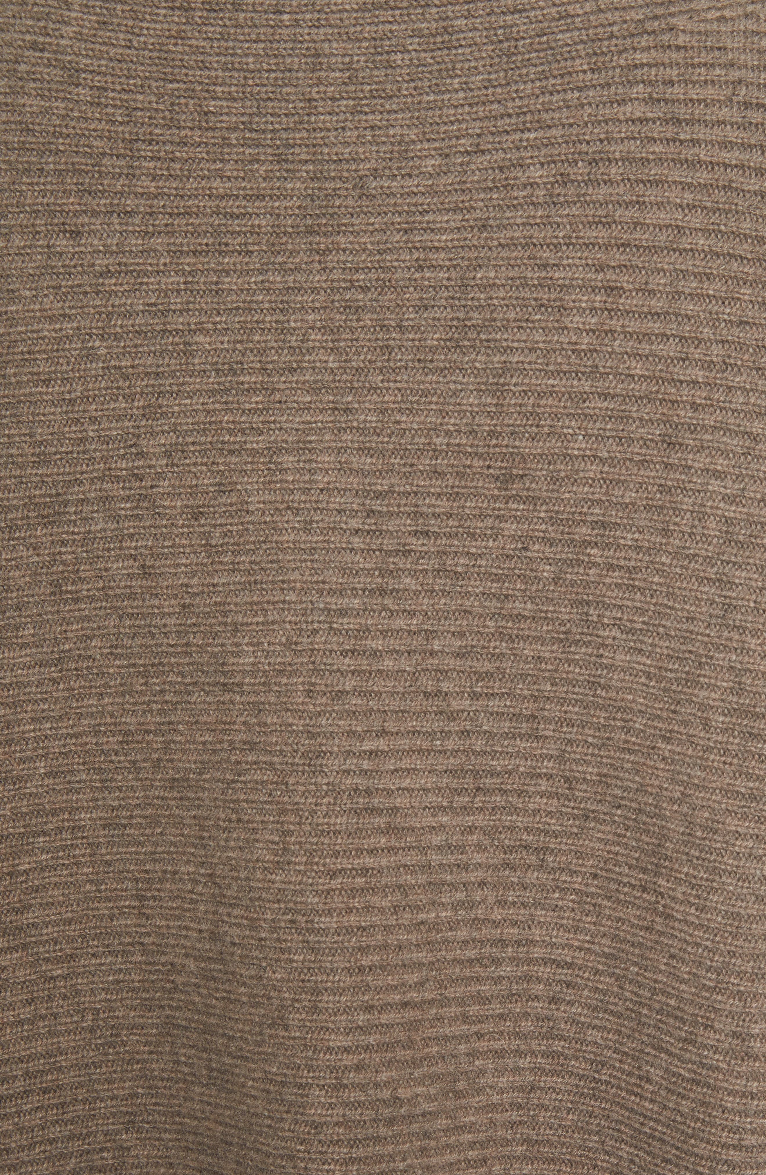 Alternate Image 5  - Vince Ribbed Wool & Cashmere Sweater