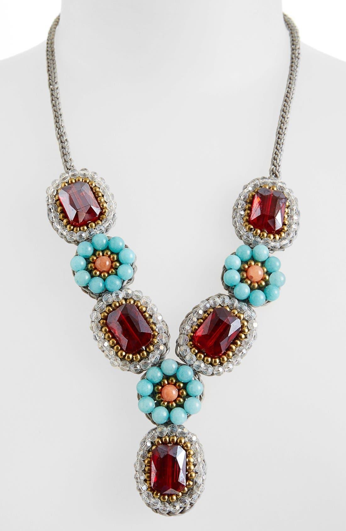 Alternate Image 2  - Panacea Crystal Quartz Statement Necklace