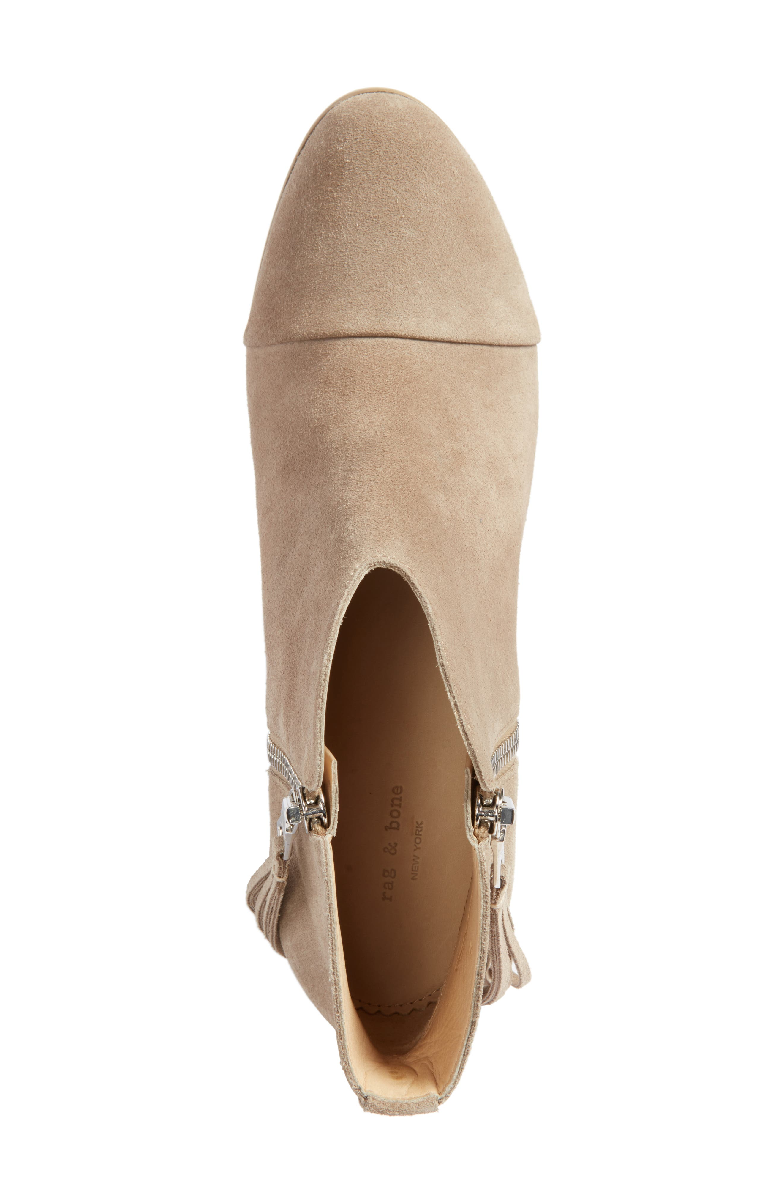 Alternate Image 5  - rag & bone Margot Fringe Cap Toe Bootie (Women)