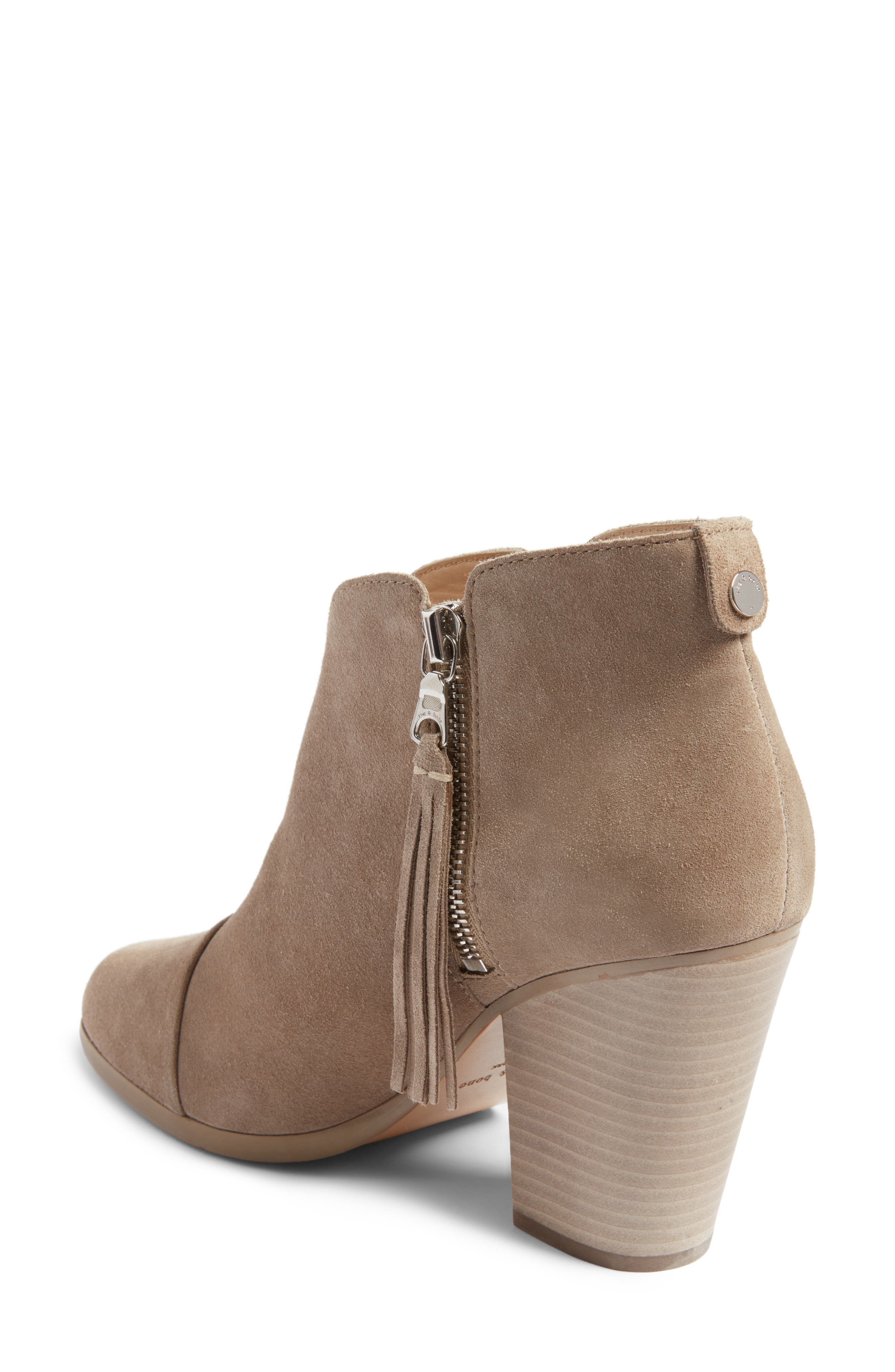 Alternate Image 2  - rag & bone Margot Fringe Cap Toe Bootie (Women)