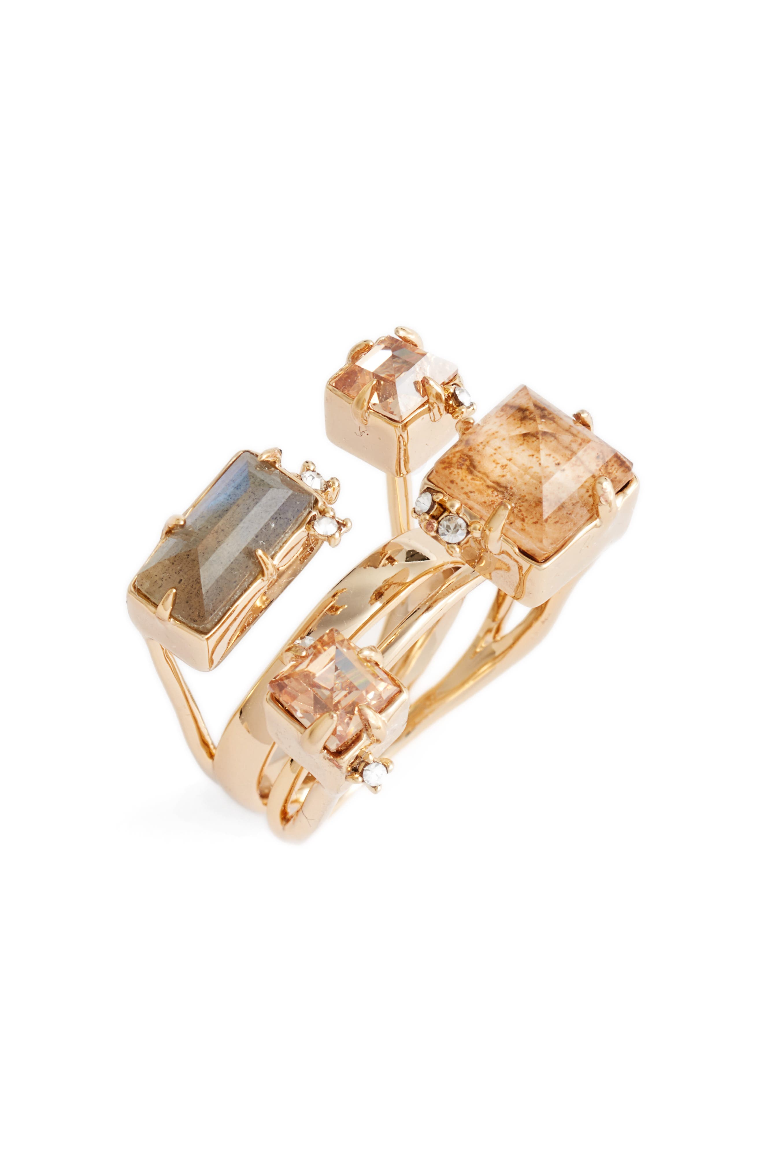 Alexis Bittar Geo Crystal Ring