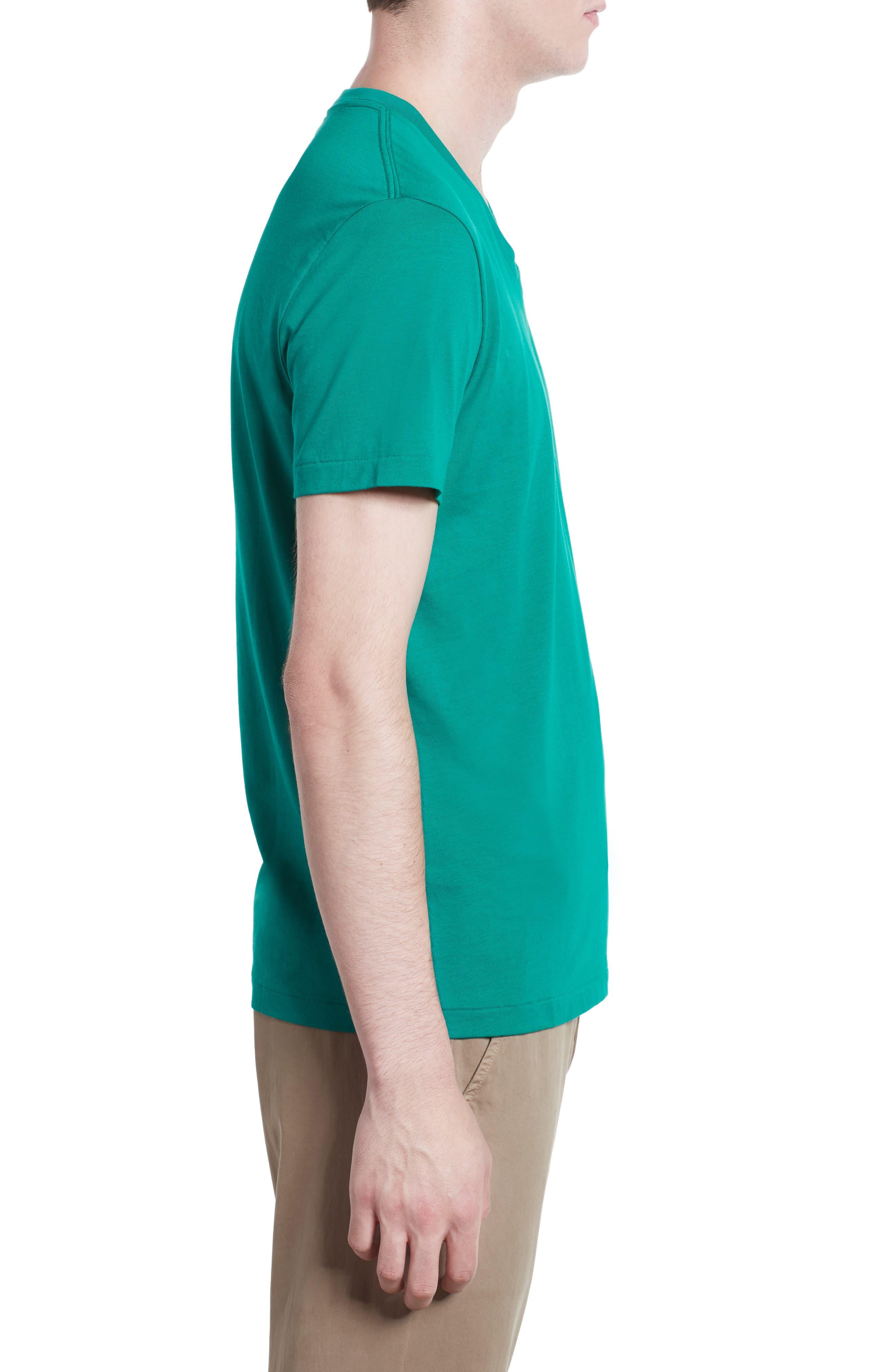 Alternate Image 3  - Burberry Lindon Cotton T-Shirt