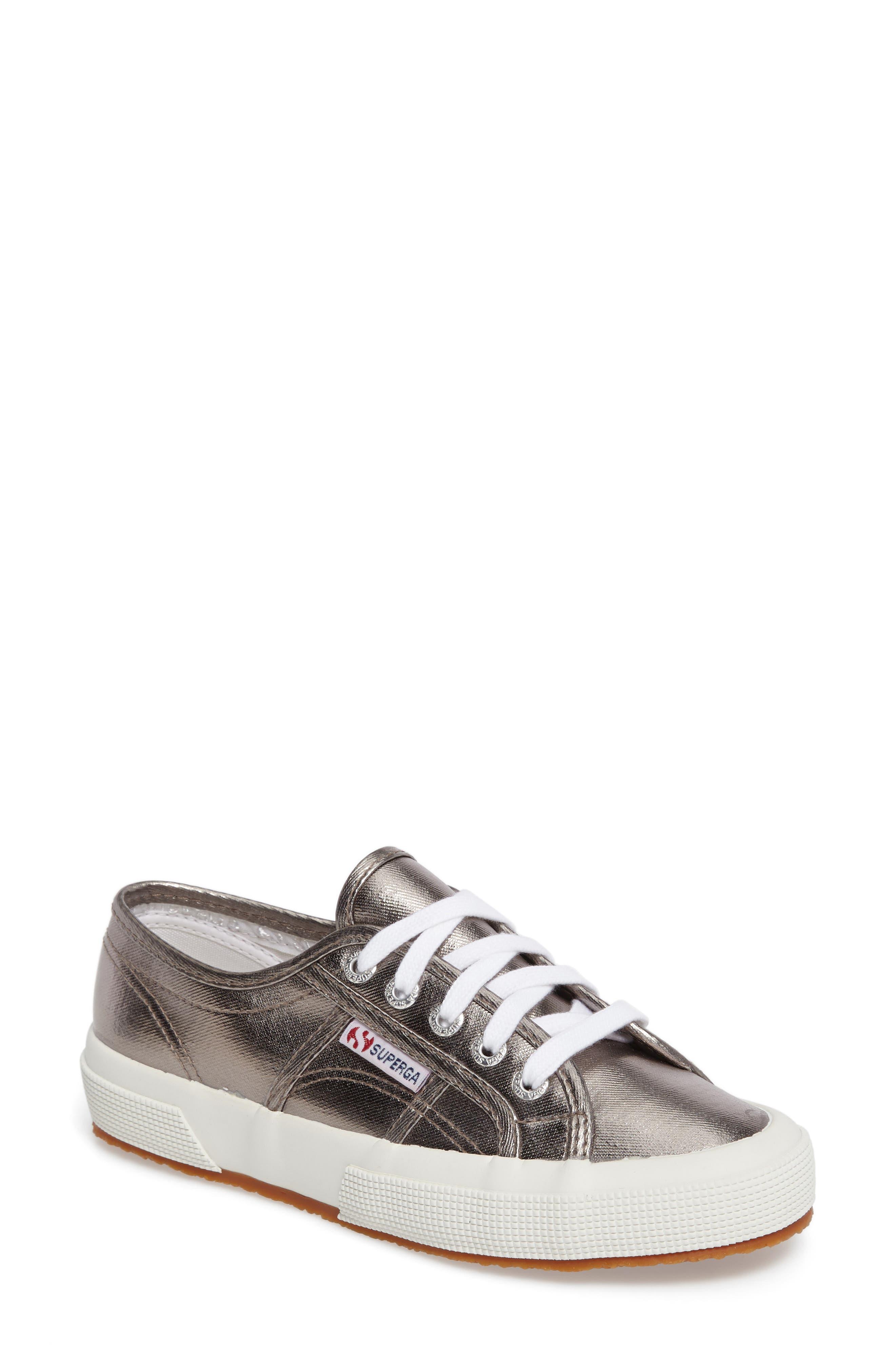 Alternate Image 1 Selected - Superga 'Cotmetu' Metallic Sneaker (Women)