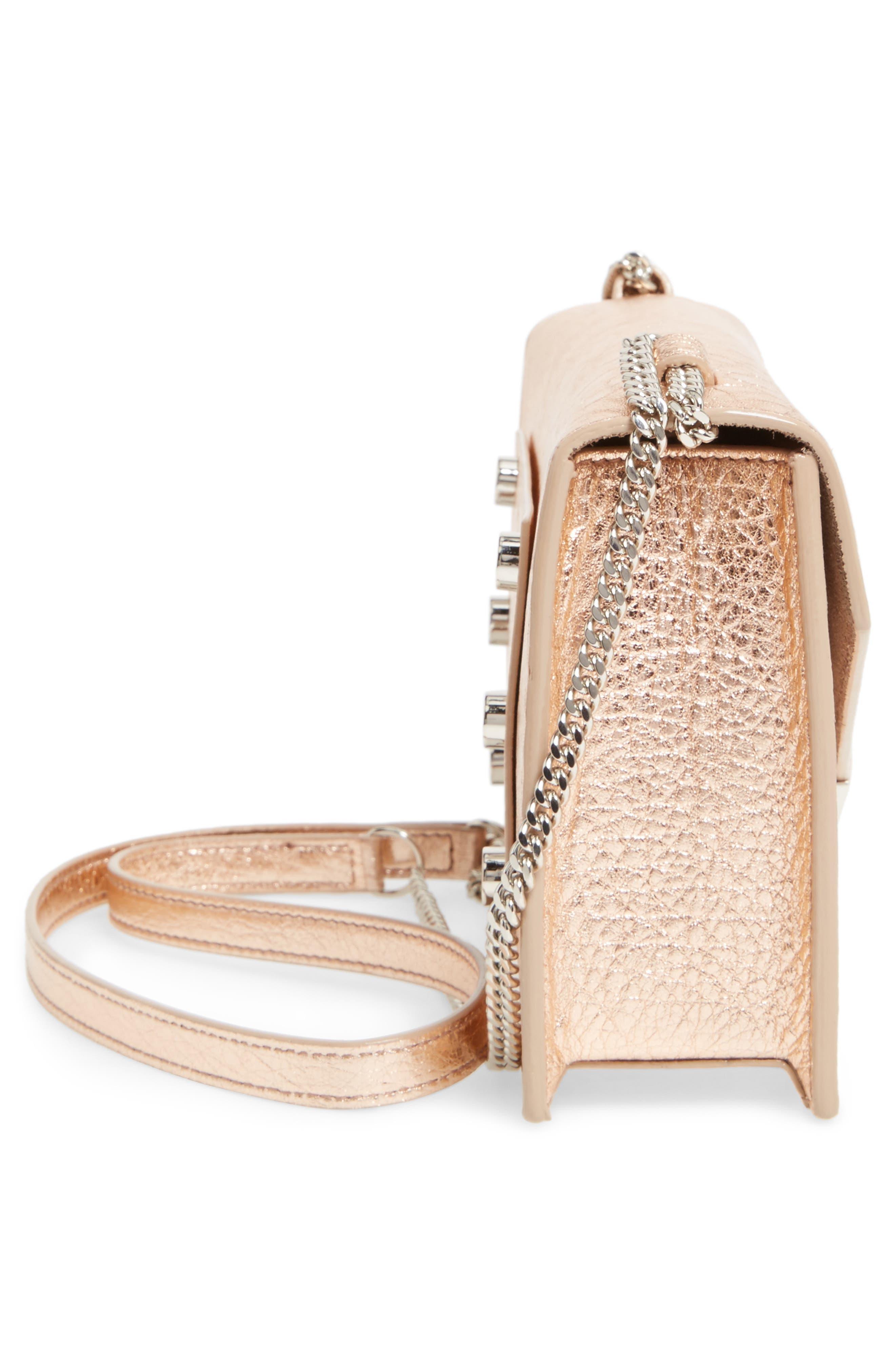 Alternate Image 6  - Jimmy Choo Leila Grainy Lambskin Leather Crossbody Bag
