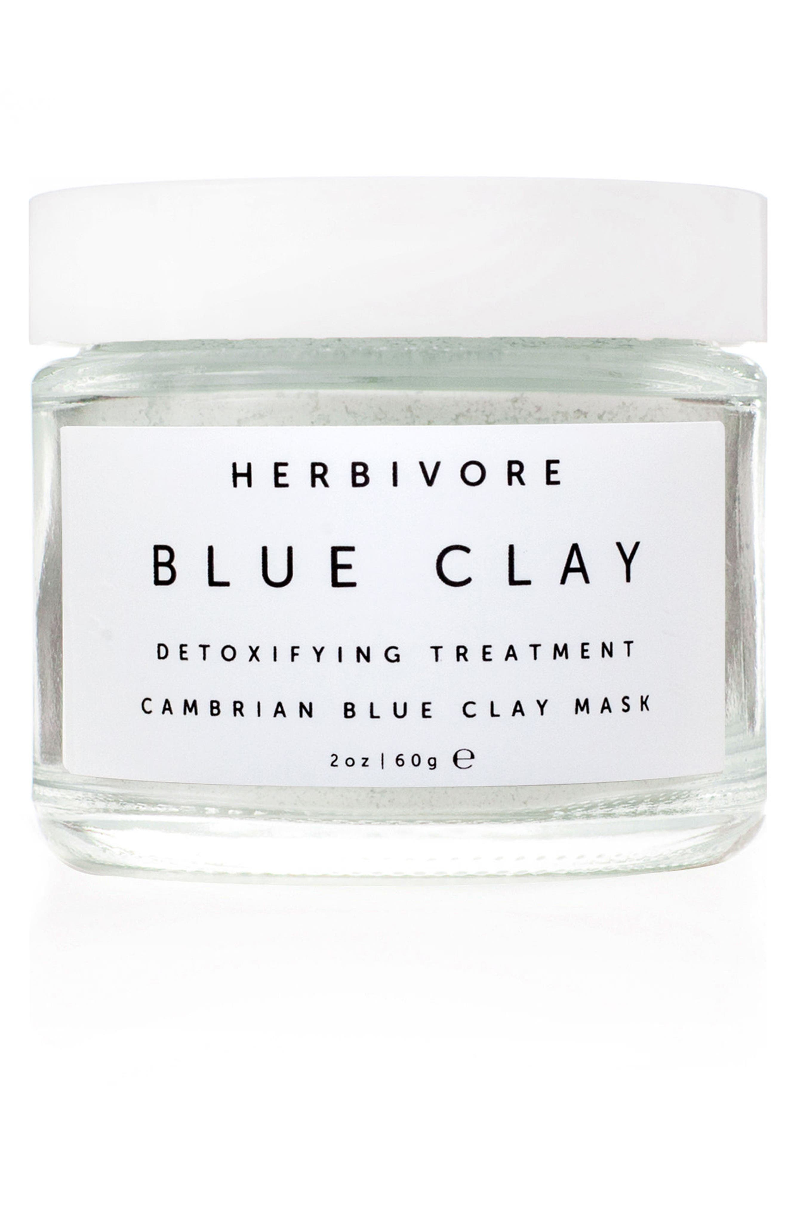 Alternate Image 1 Selected - Herbivore Botanicals Blue Clay Spot Treatment Mask