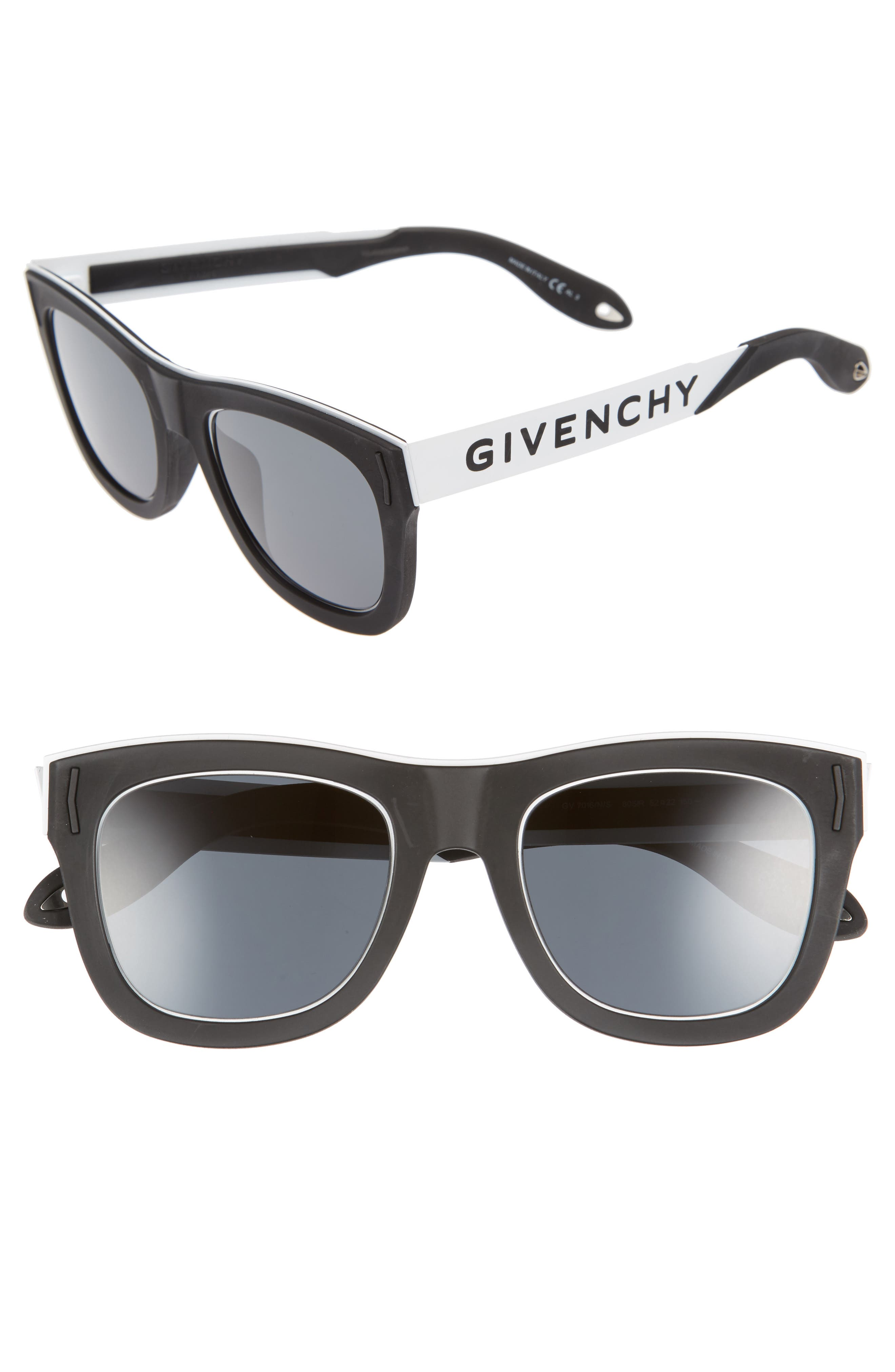 GIVENCHY 52Mm Gradient Lens Sunglasses