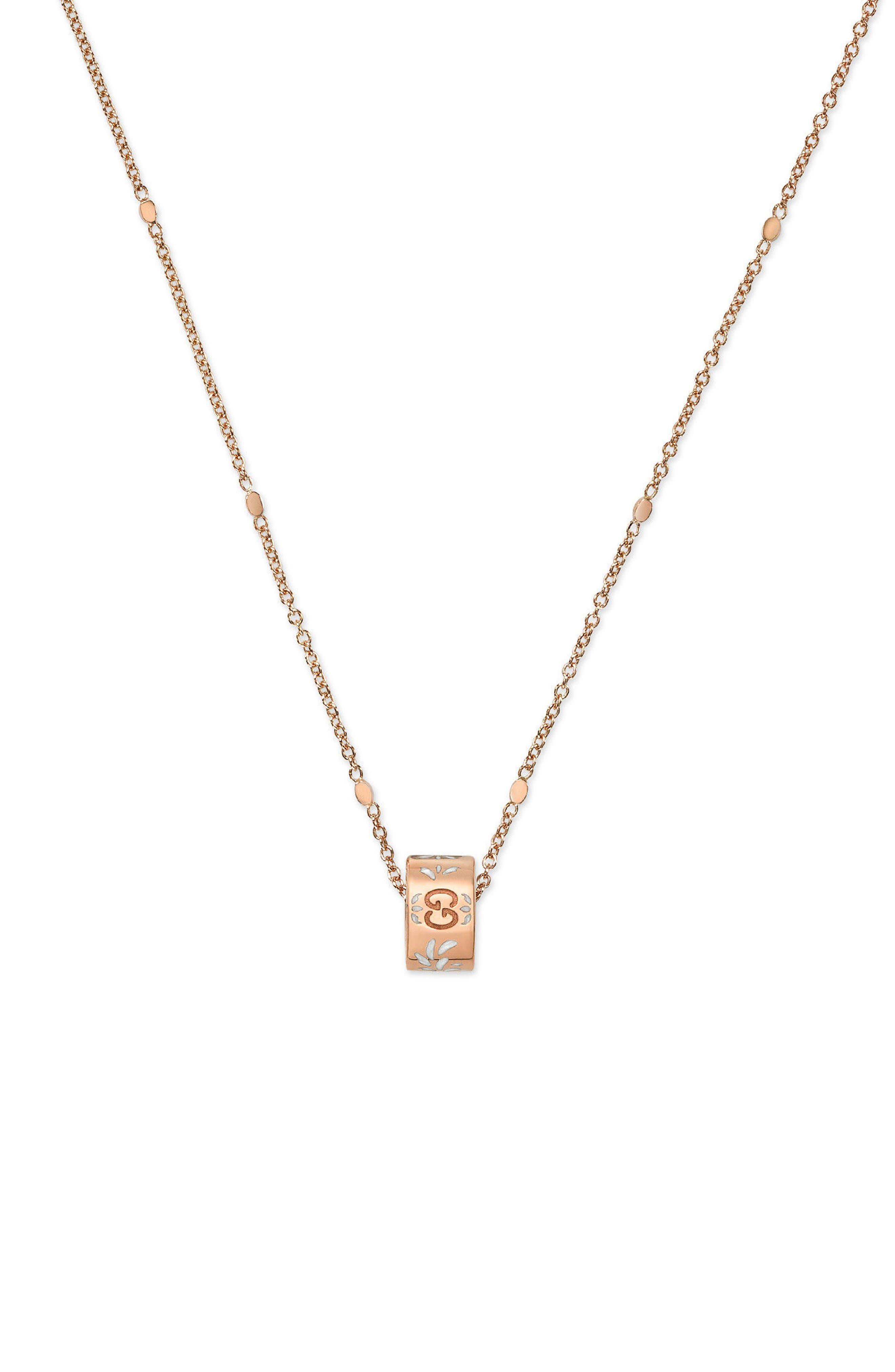 Main Image - Gucci Icon Pendant Necklace