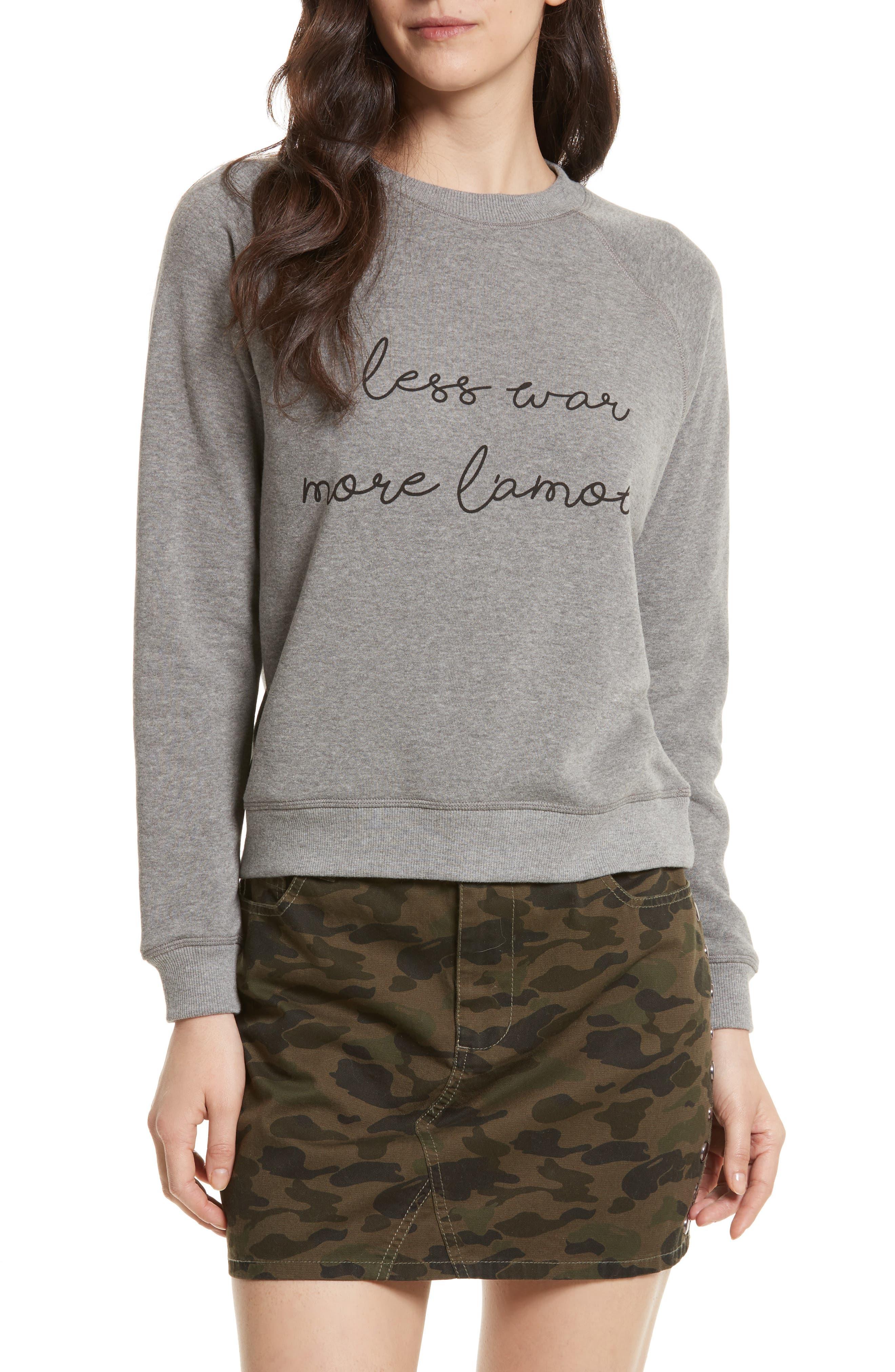 Rebecca Minkoff Less War Sweatshirt