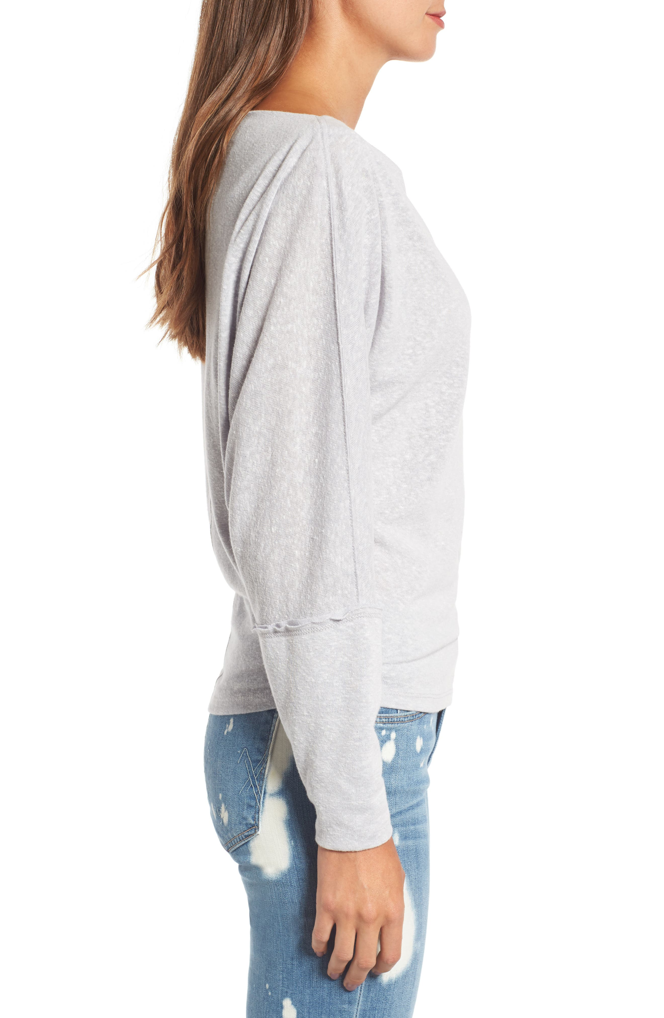 Alternate Image 3  - Free People Valencia Off the Shoulder Pullover