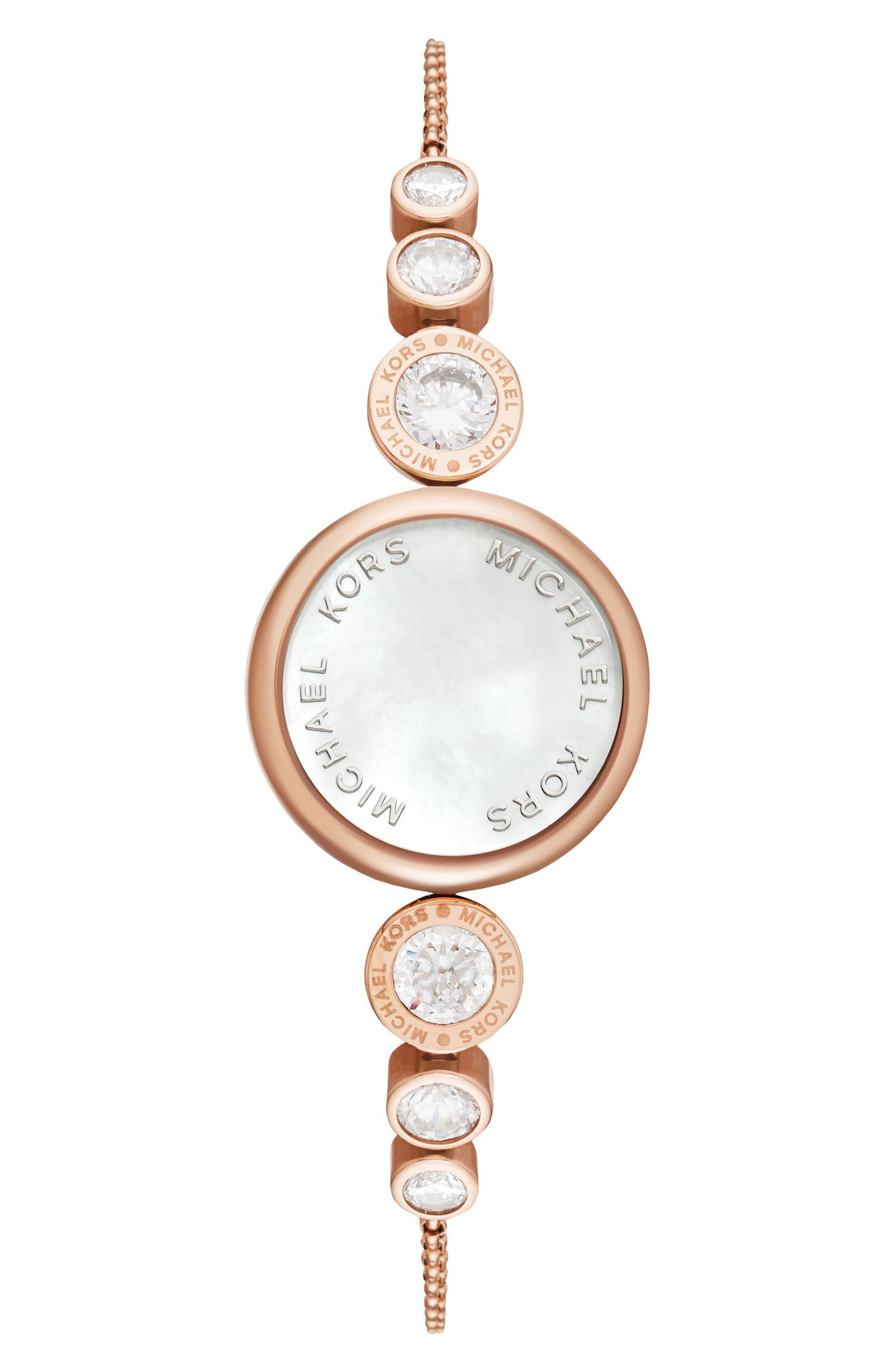 Michael Kors Varick Mother of Pearl Activity Tracker