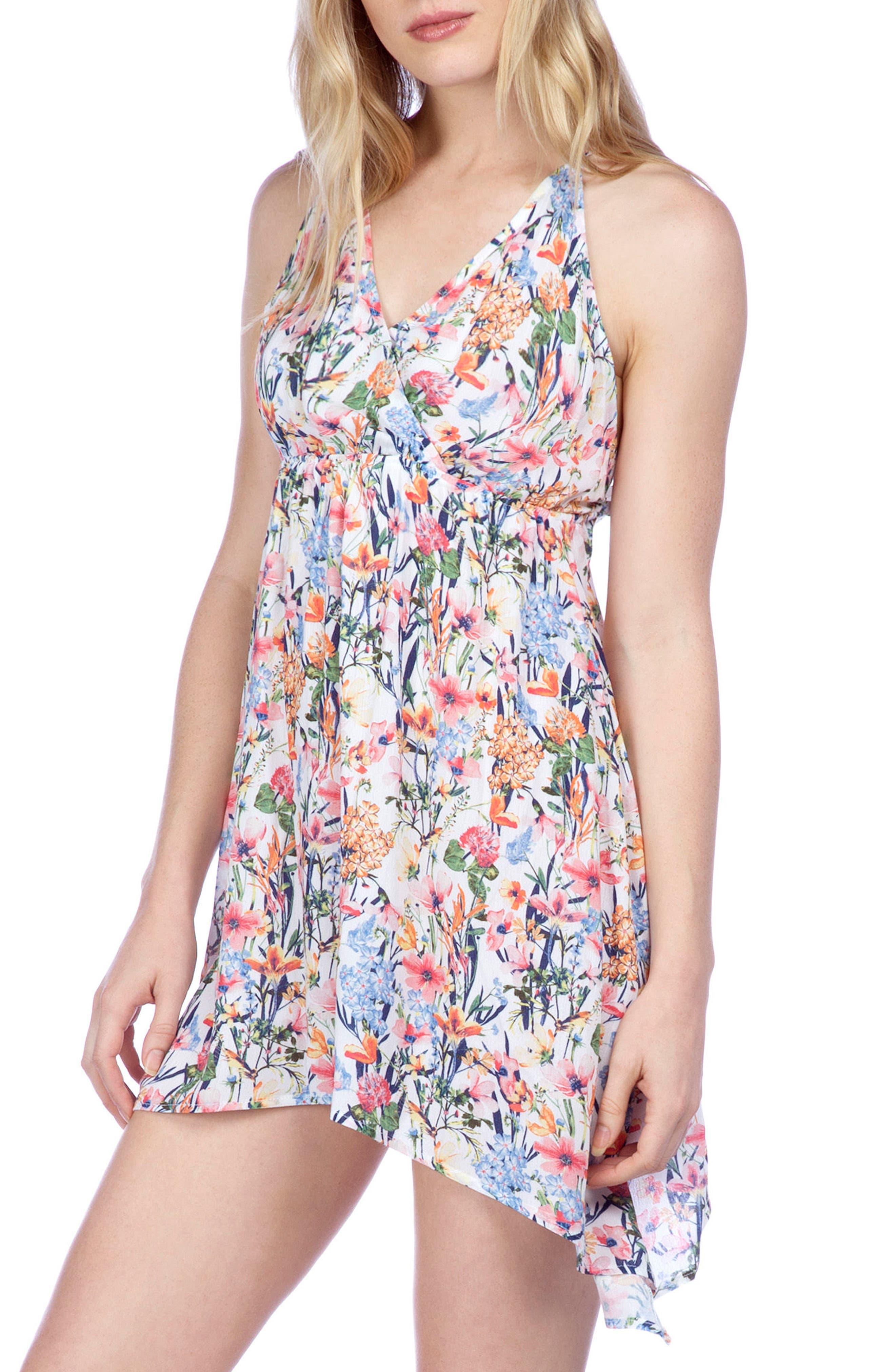 Lucky Brand Garden Cover-Up Swing Dress