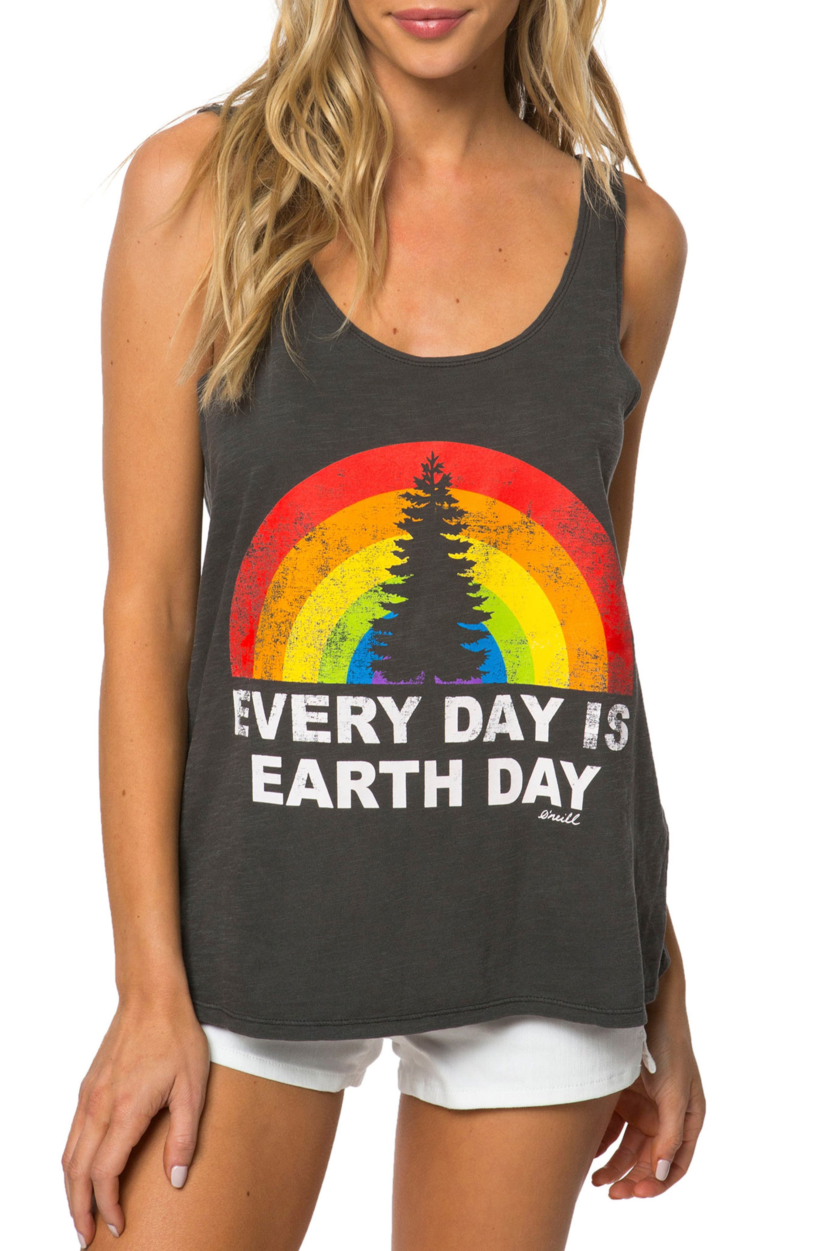 O'Neill Earth Day Graphic Tank