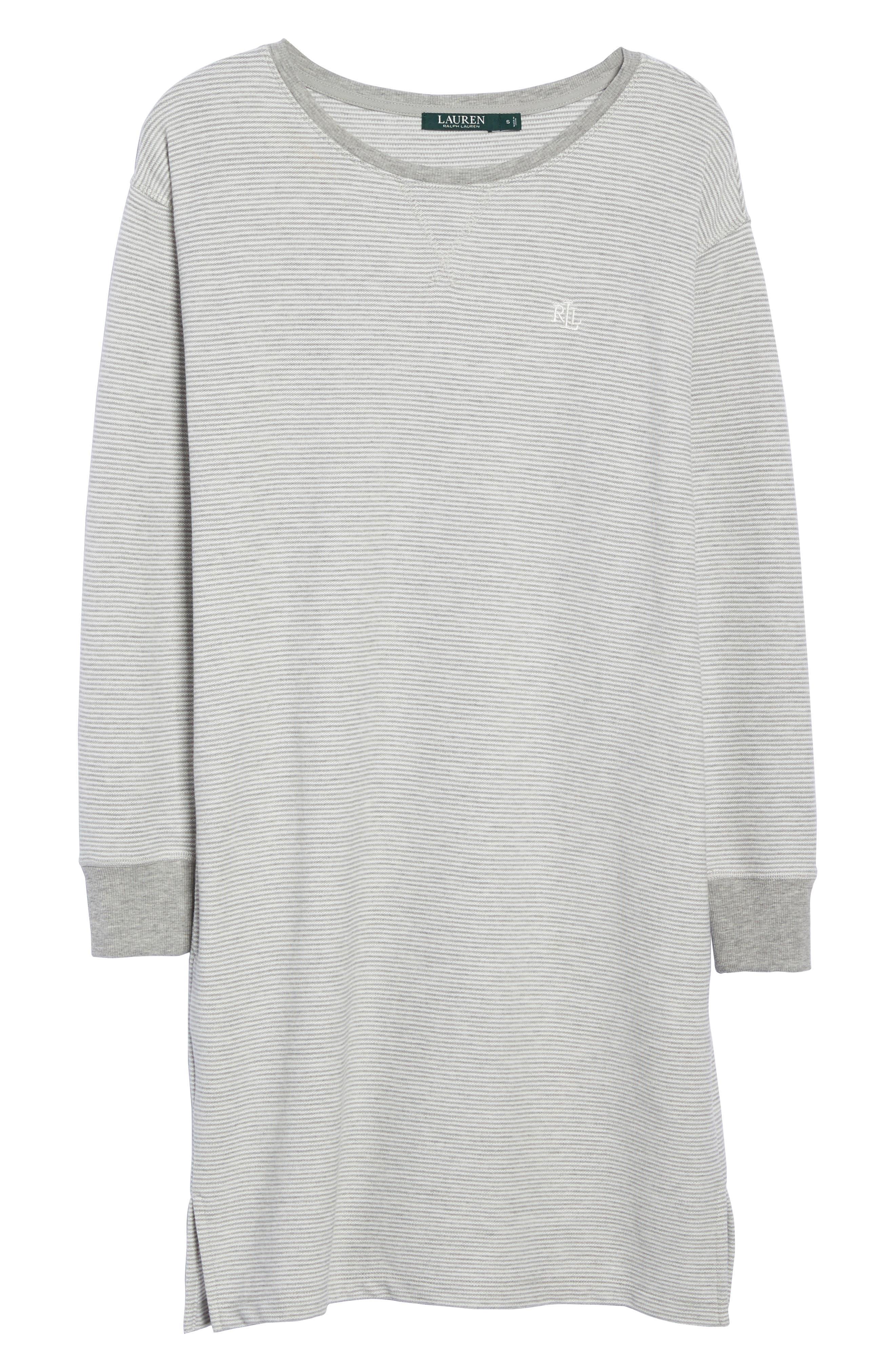 Alternate Image 4  - Lauren Ralph Lauren Longline Lounge Sweatshirt