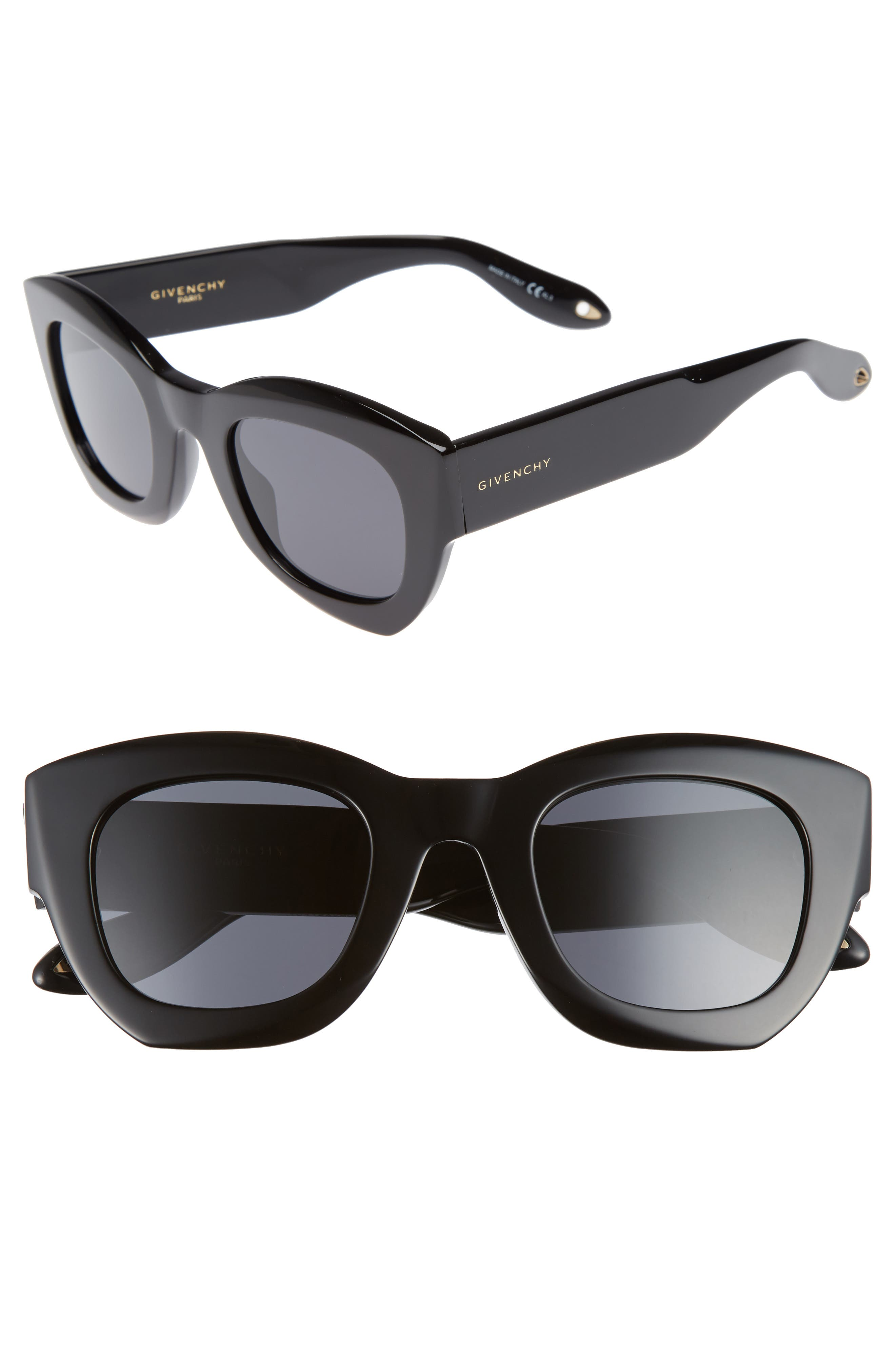 Givenchy 48mm Cat Eye Sunglasses