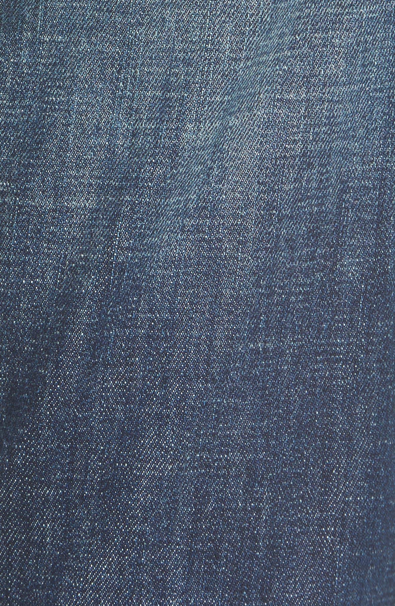 Alternate Image 5  - BLANKNYC Ripped Girlfriend Jeans (Let It Roll)