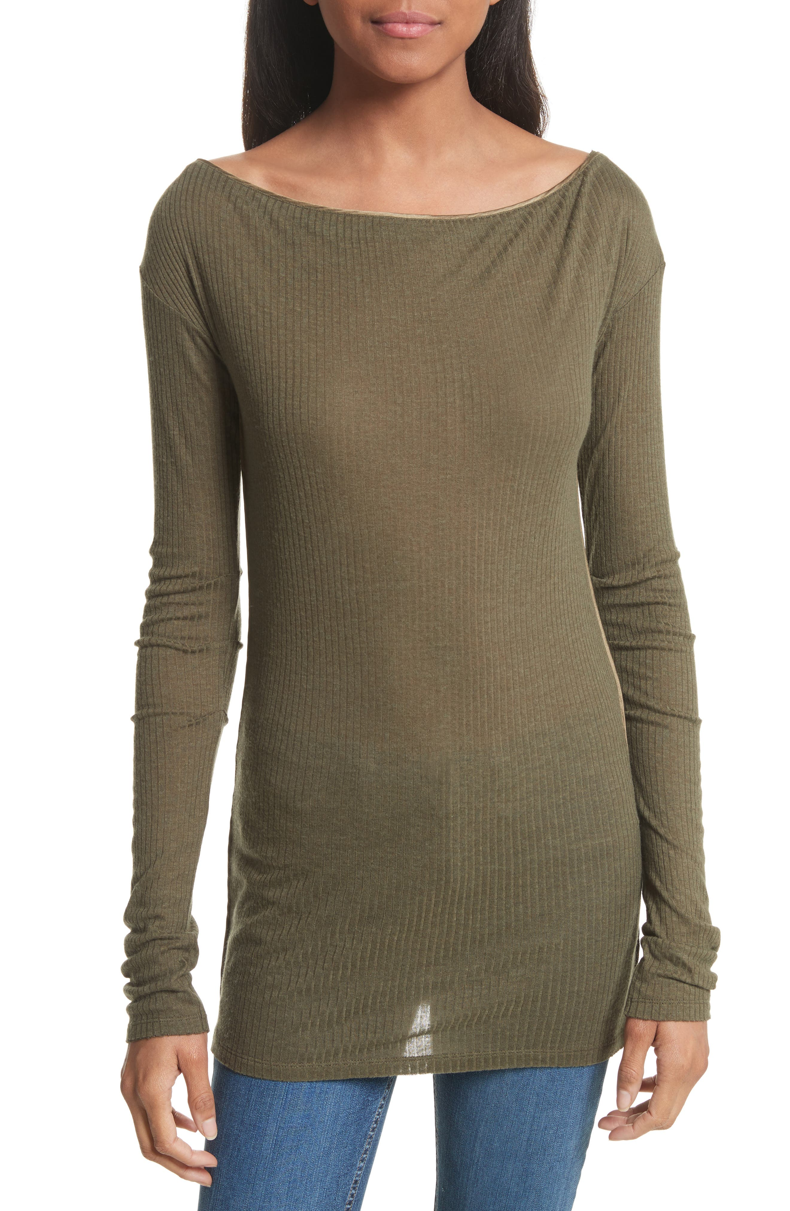 rag & bone Madison Long Sleeve Top