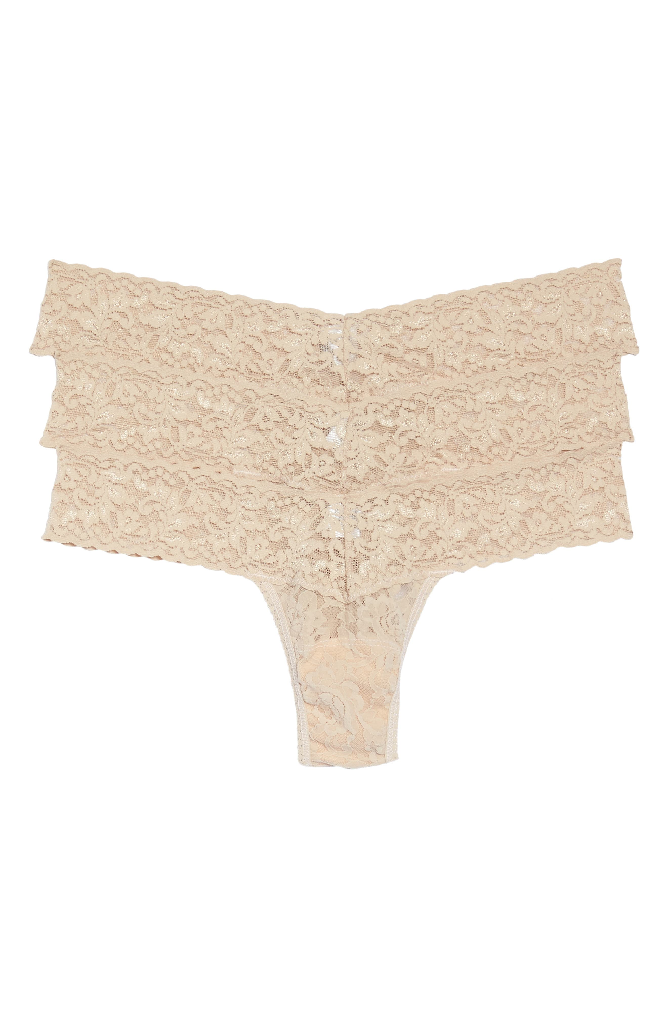Hanky Panky Low Rise Thong (3-Pack)