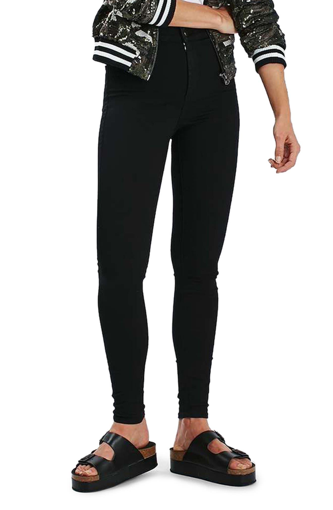 Alternate Image 2  - Topshop Joni High Waist Skinny Jeans