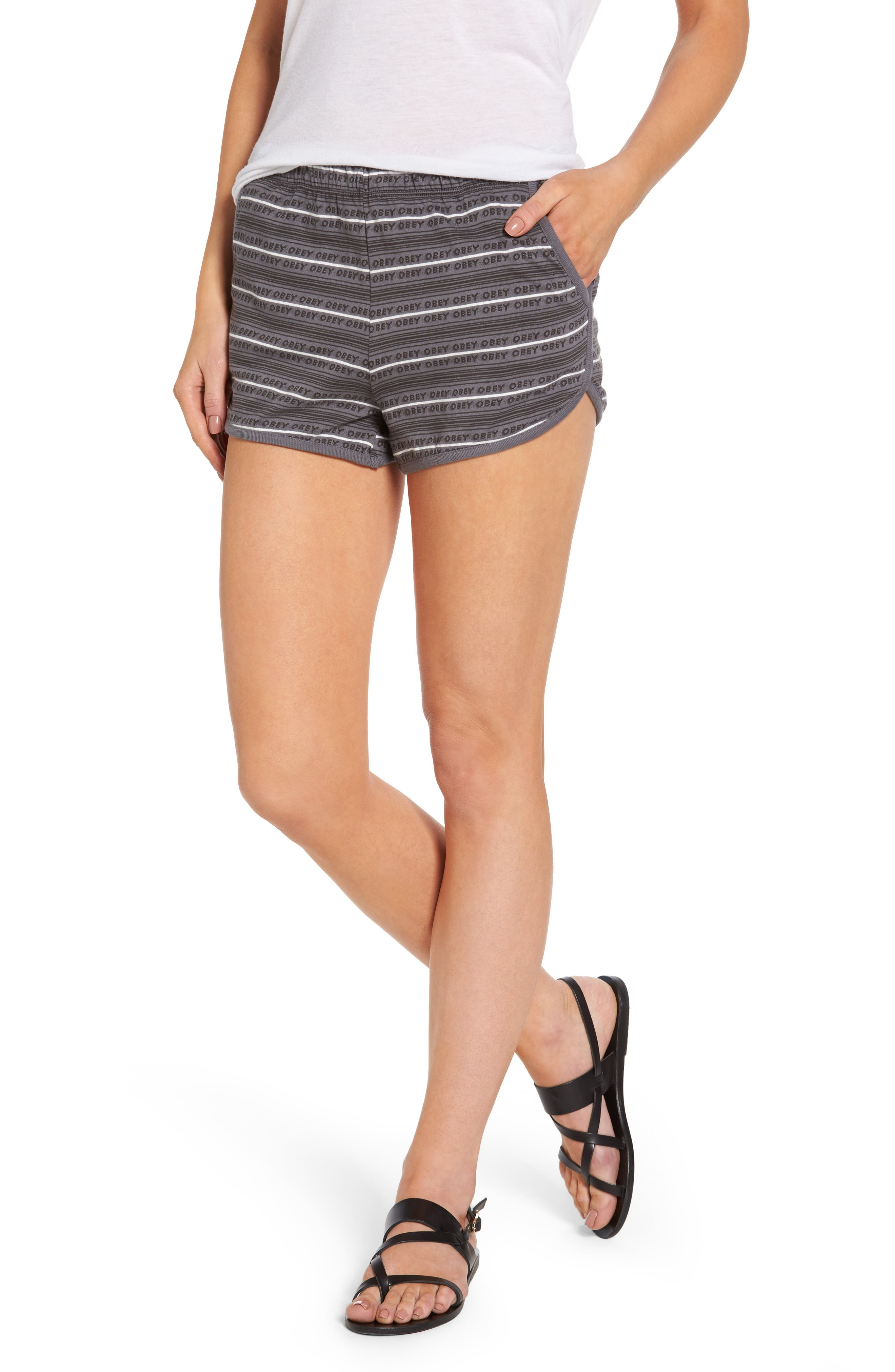Obey Tuesday Stripe Shorts