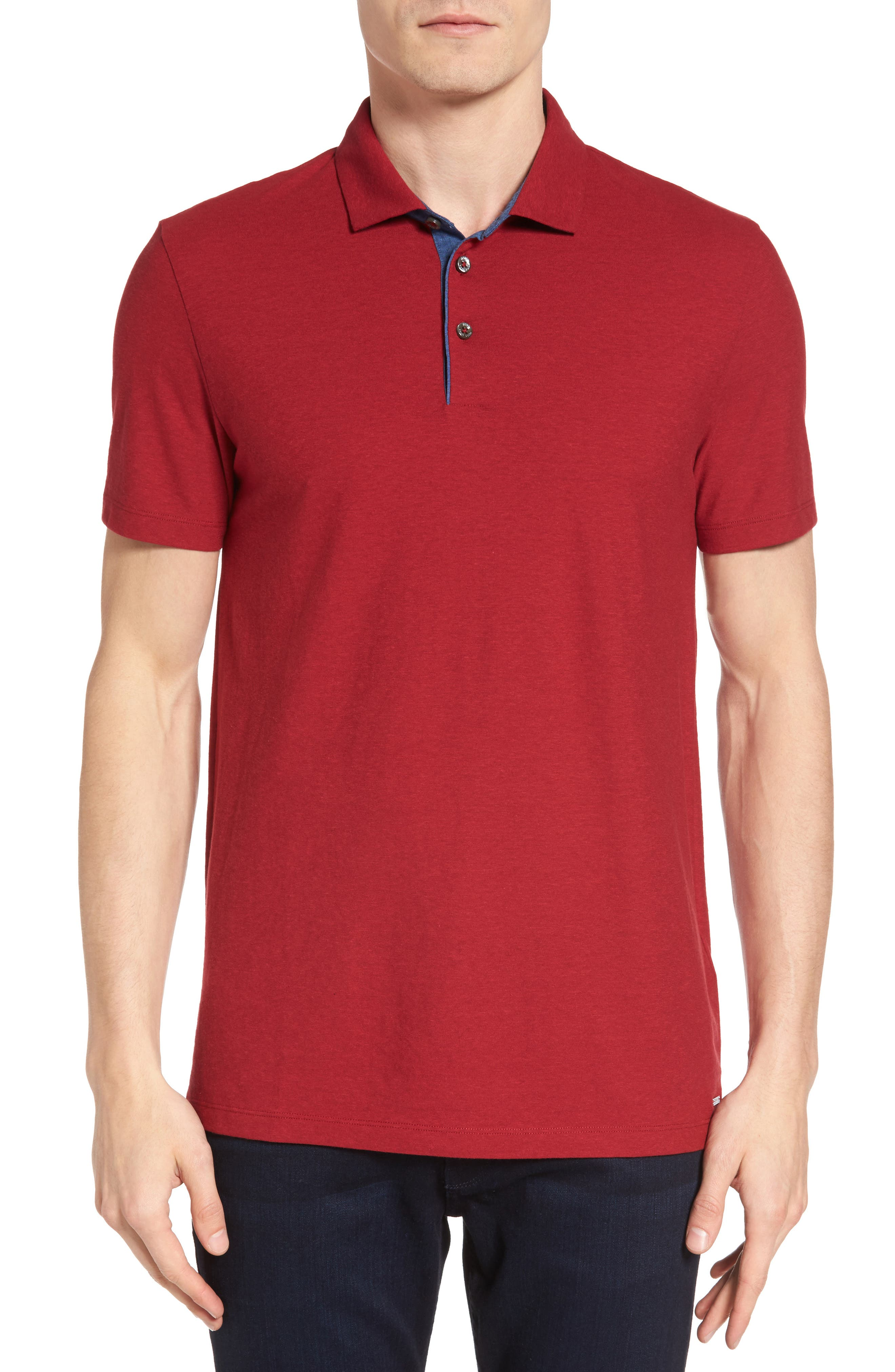 BOSS Place 15 Slim Fit Polo