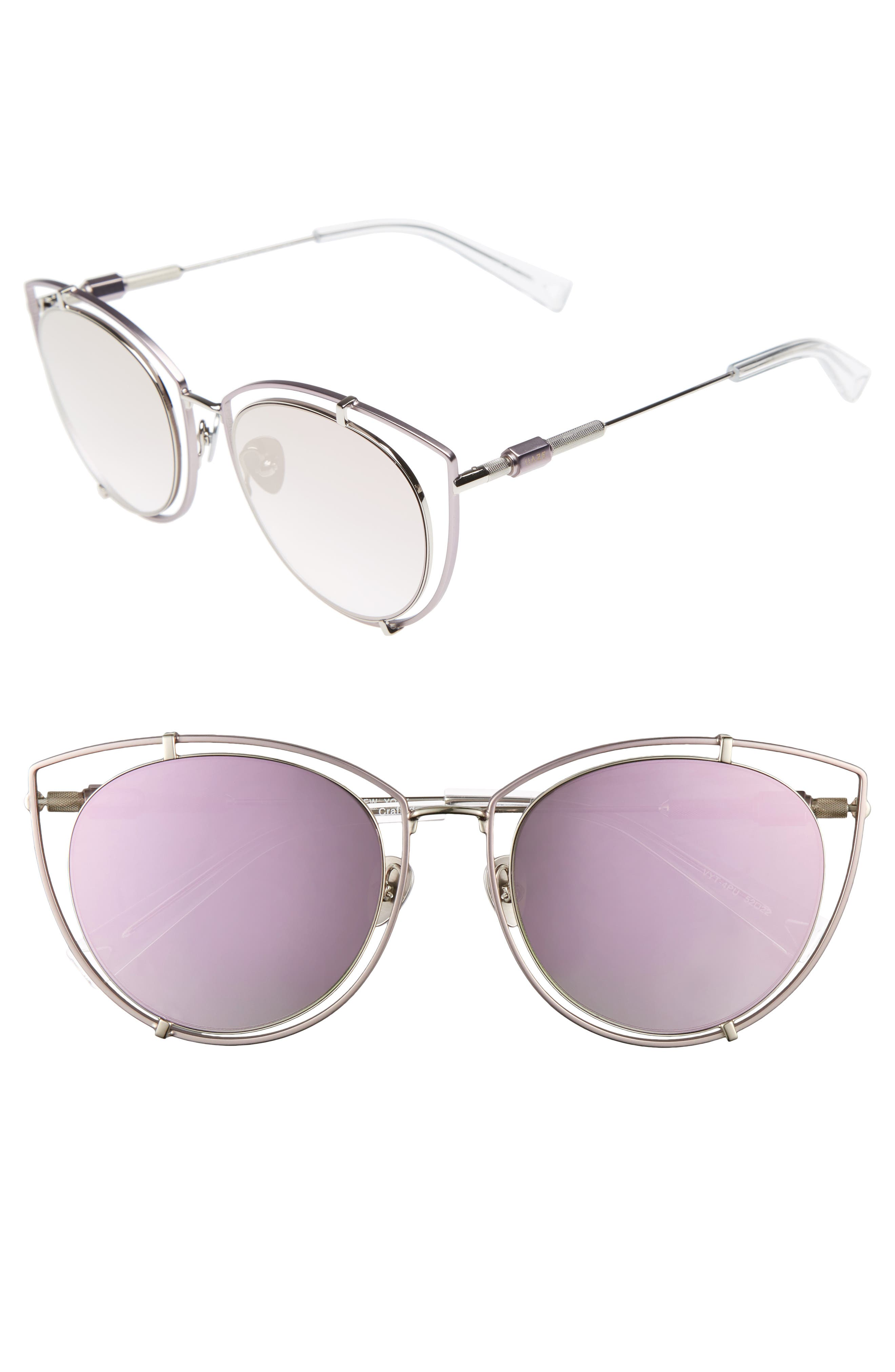 HAZE Vyt 53mm Cat Eye Sunglasses