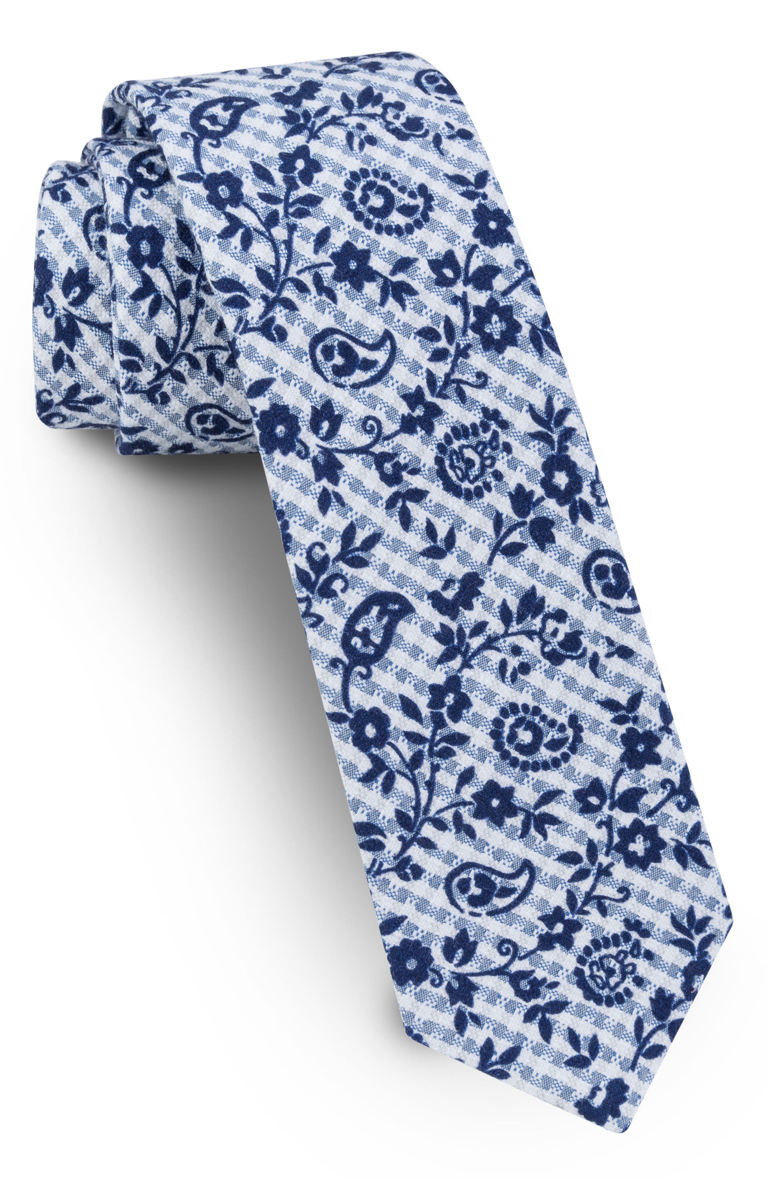 Ted Baker London Cotton Skinny Tie