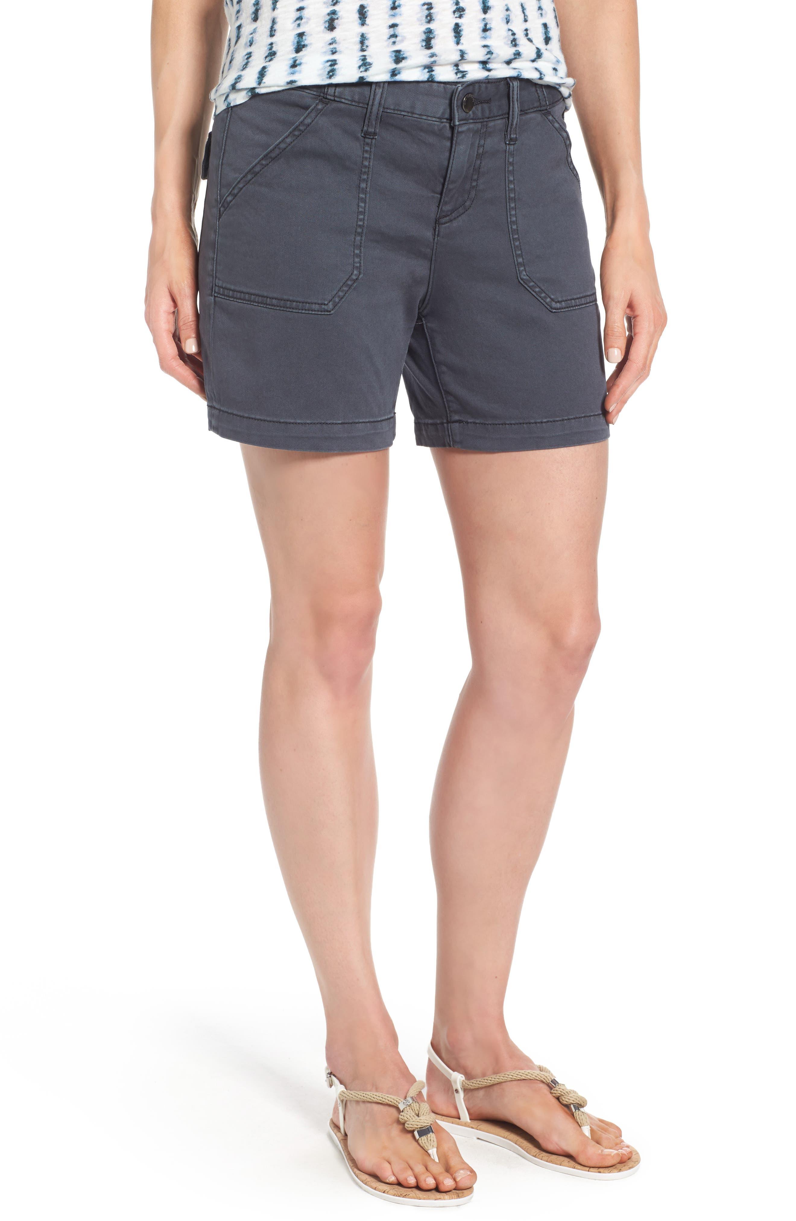 Caslon® Utility Shorts (Regular & Petite)