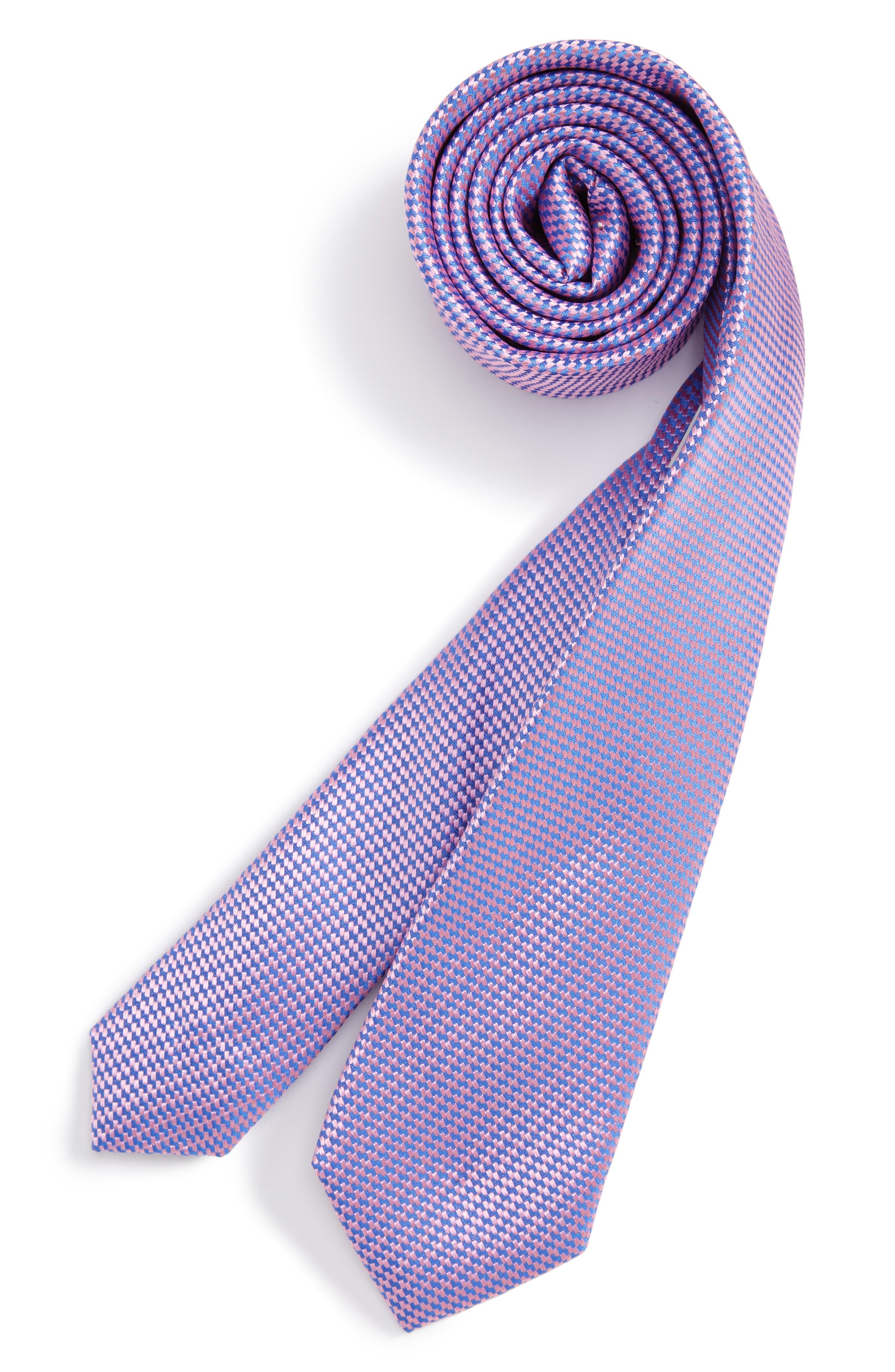 Nordstrom Textured Silk Tie (Big Boys)