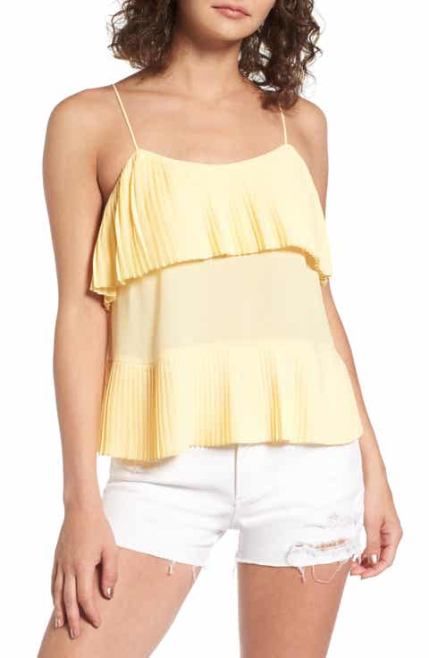 Leith Accordion Pleat Camisole
