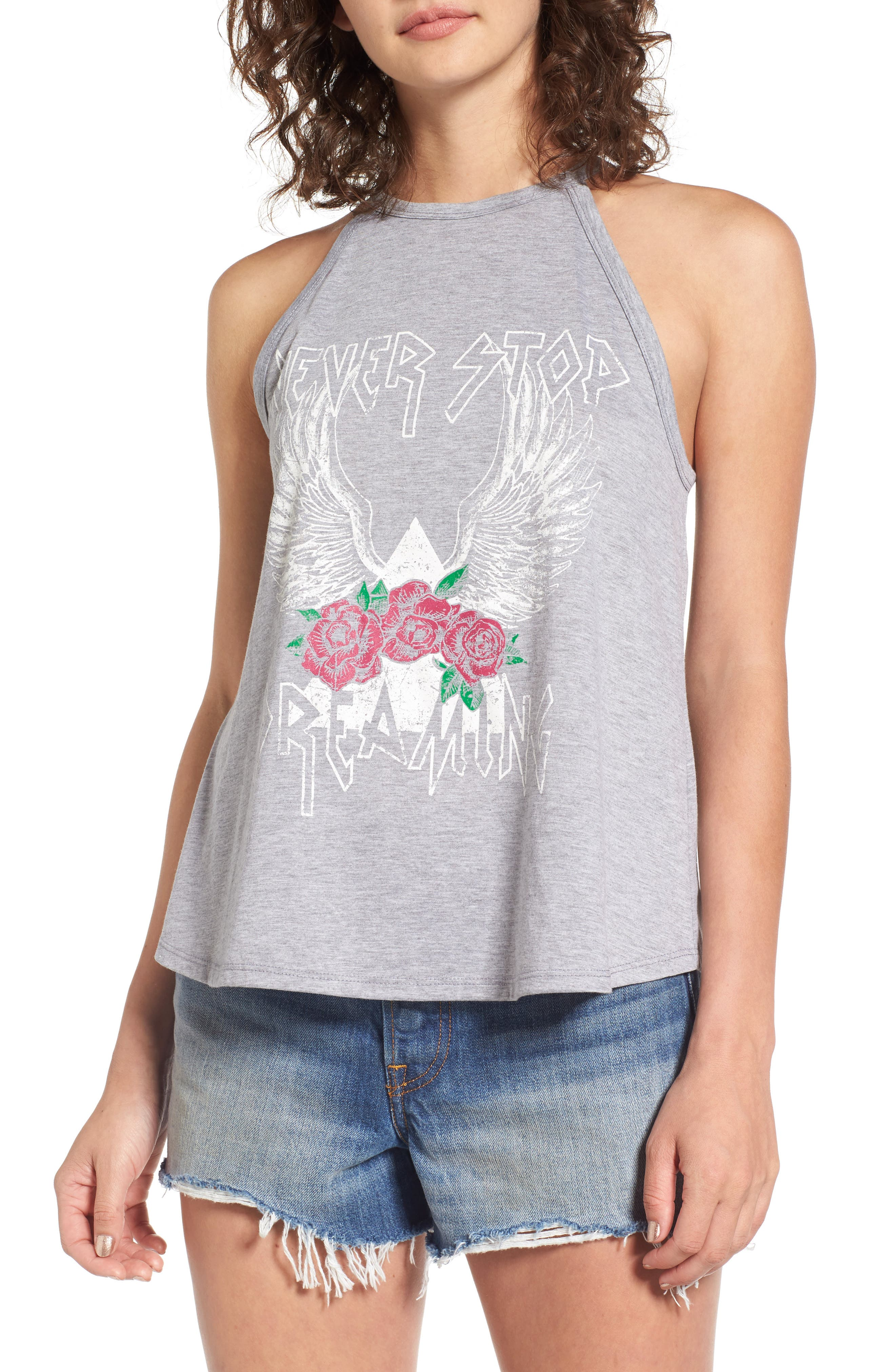 Sun & Shadow Graphic Tank