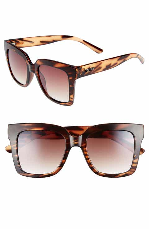Quay Australia Supine 51mm Square Sunglasses