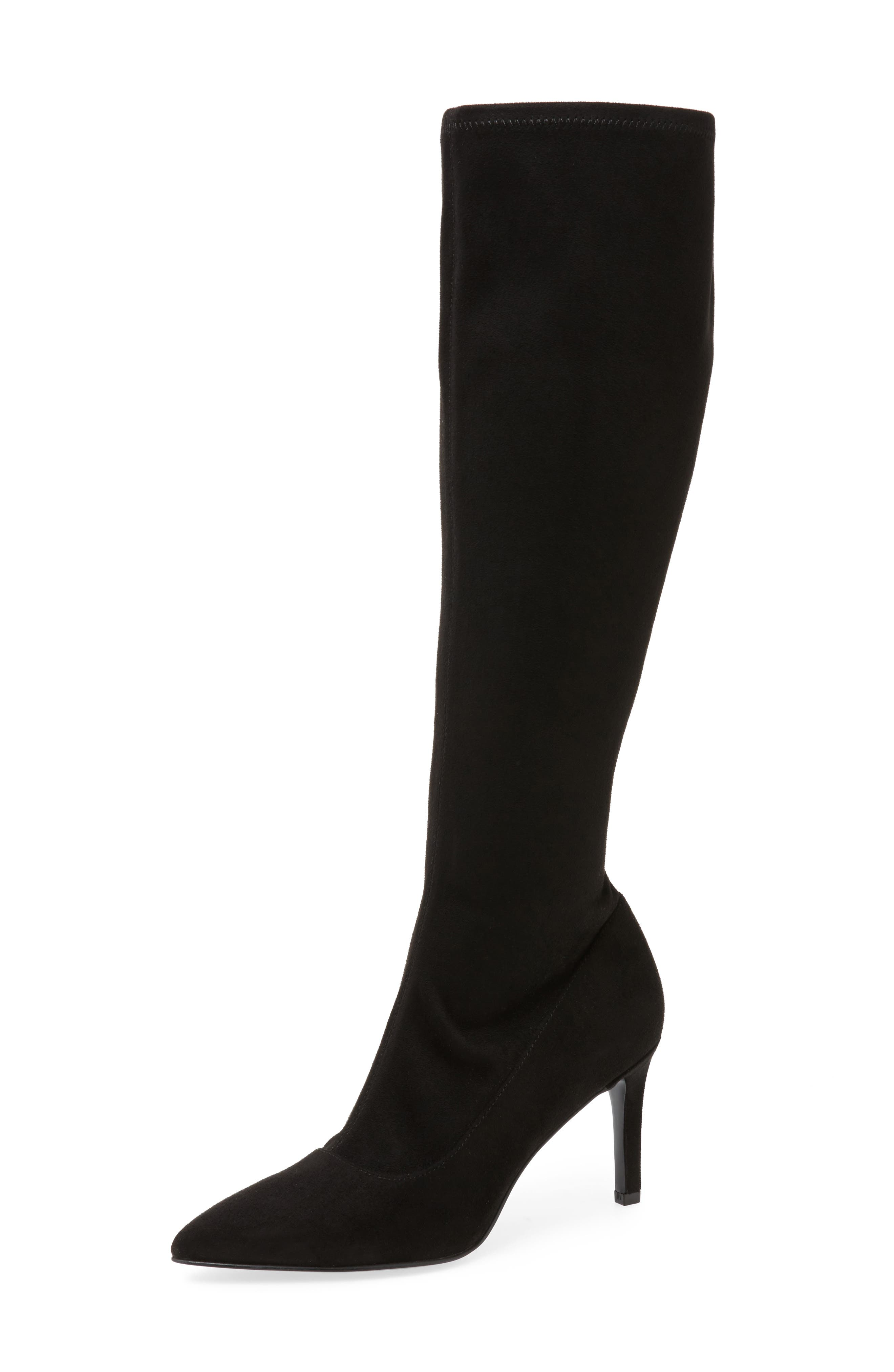 Alternate Image 1 Selected - Nine West Carrara Knee High Pointy Toe Boot (Women)