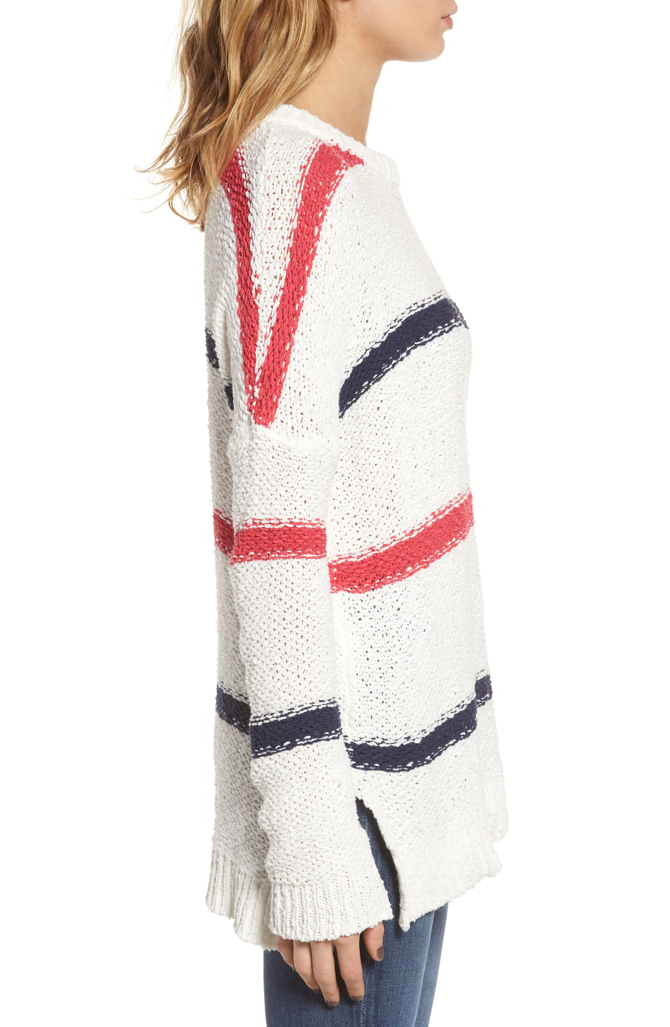Alternate Image 3  - cupcakes and cashmere Madden Stripe Sweater