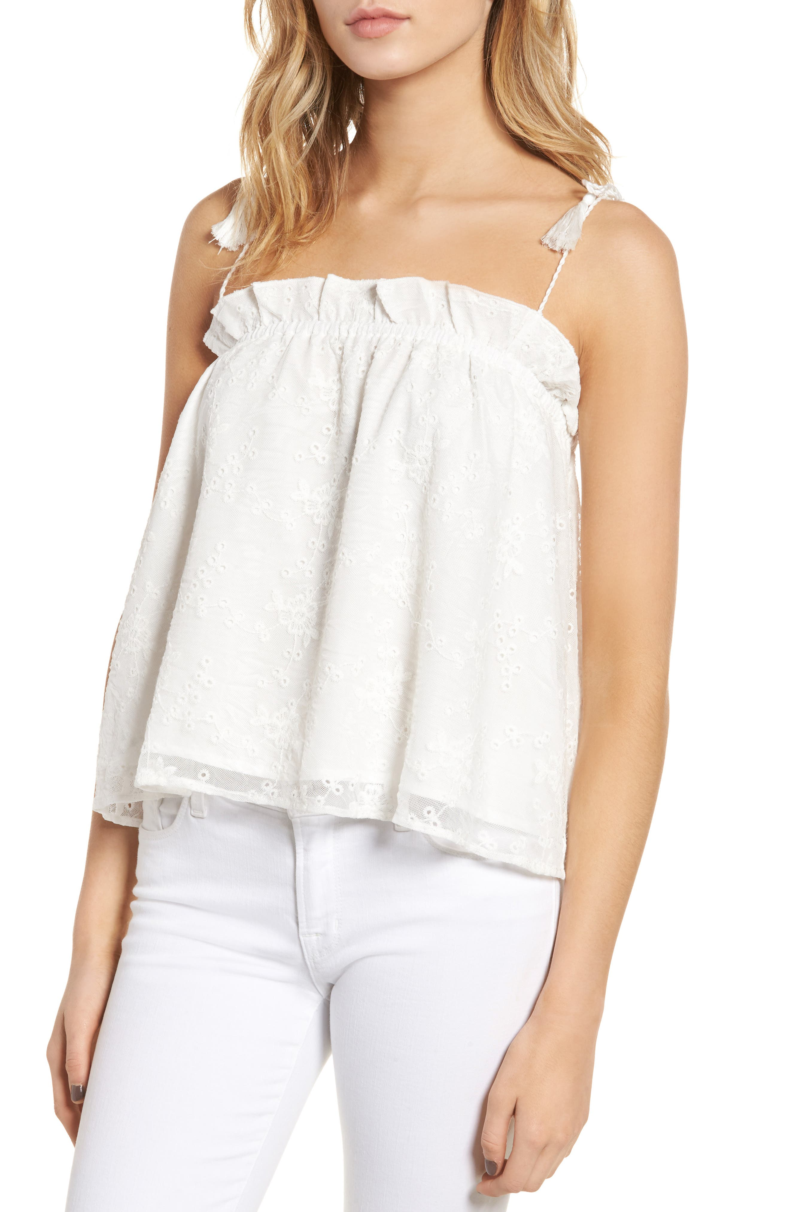 cupcakes and cashmere Garcelle Swing Camisole