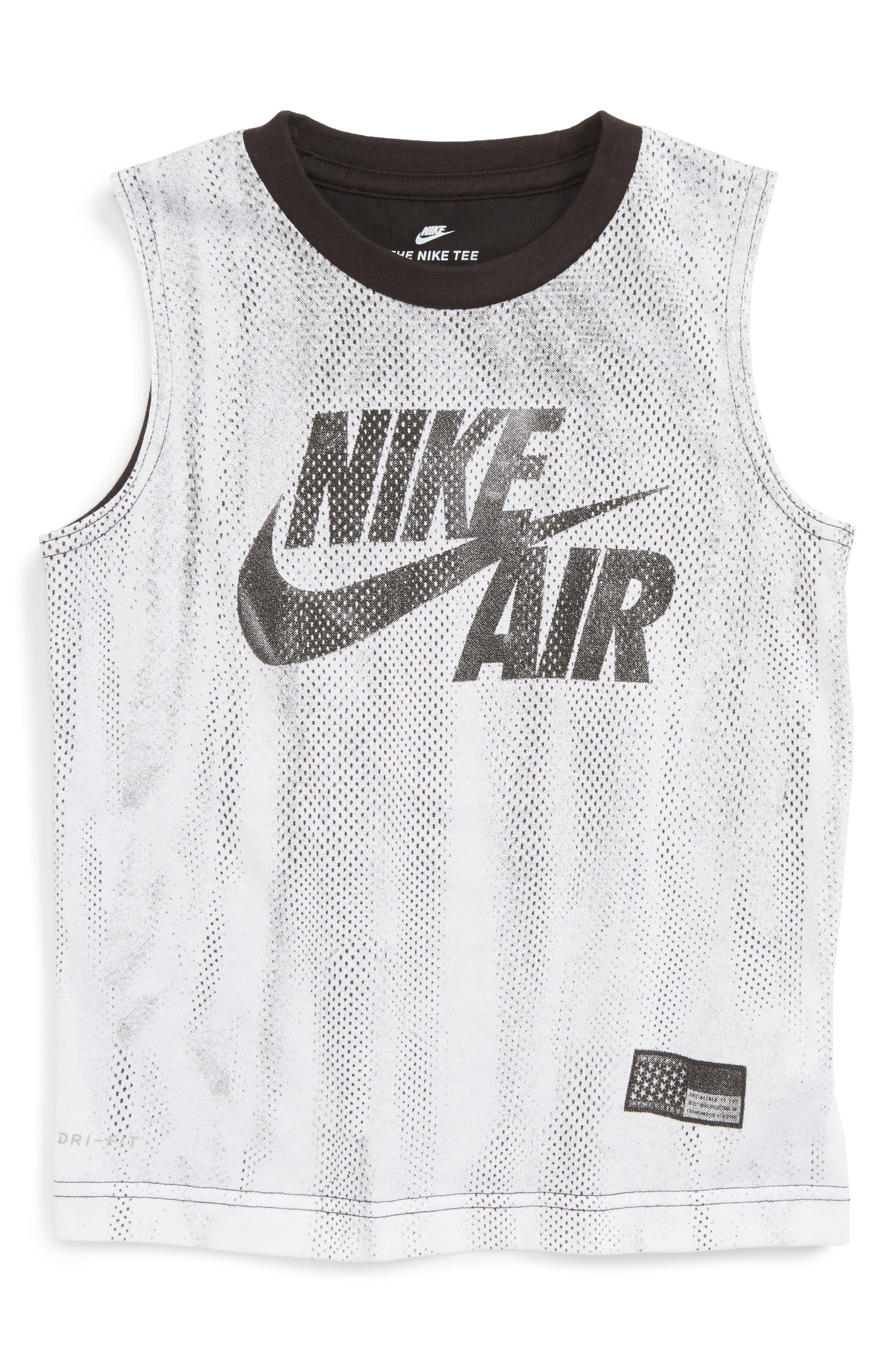 Nike Air Graphic Muscle Tank (Toddler Boys & Little Boys)