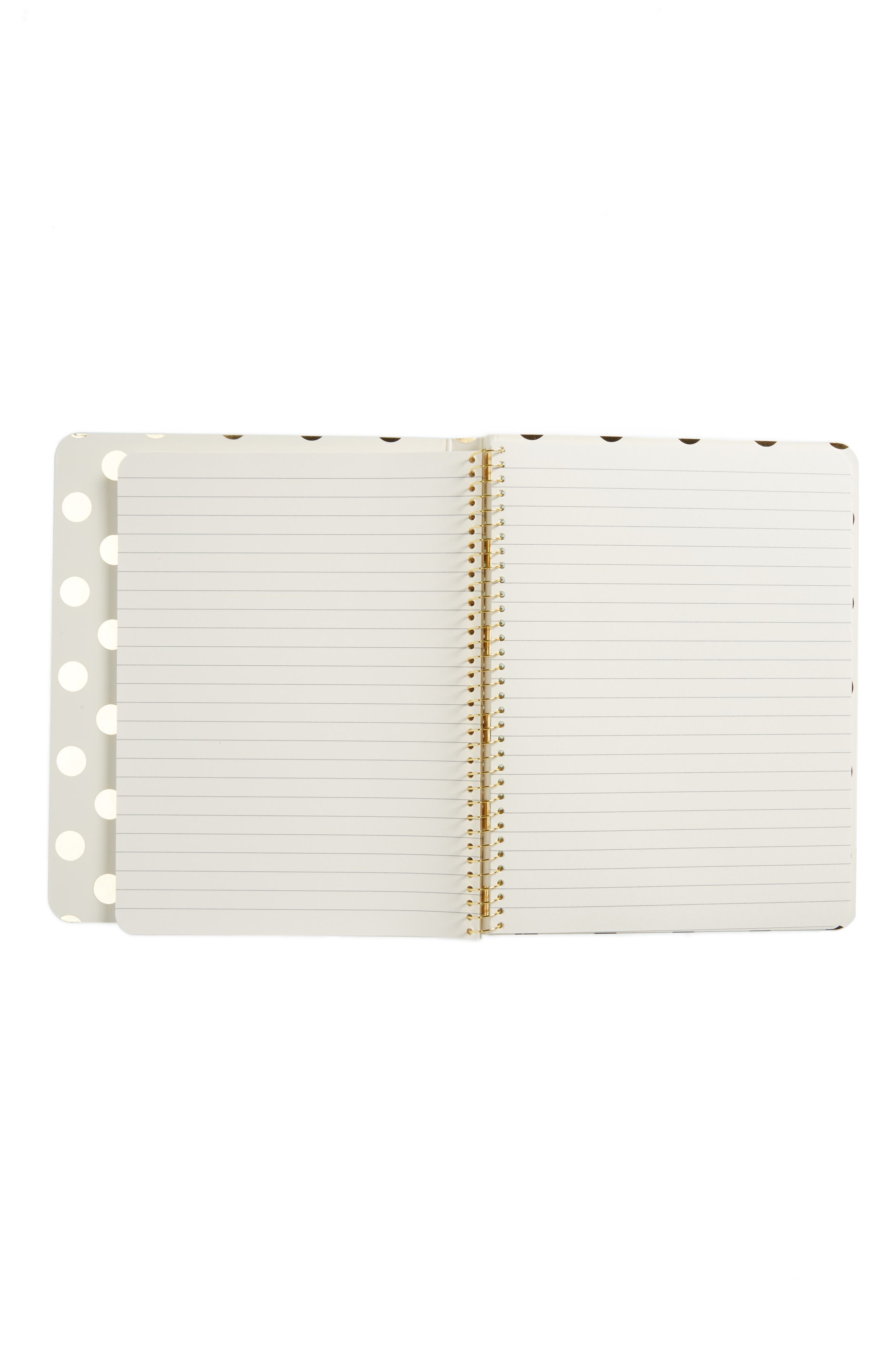 Alternate Image 2  - kate spade new york she is quick and curious spiral notebook