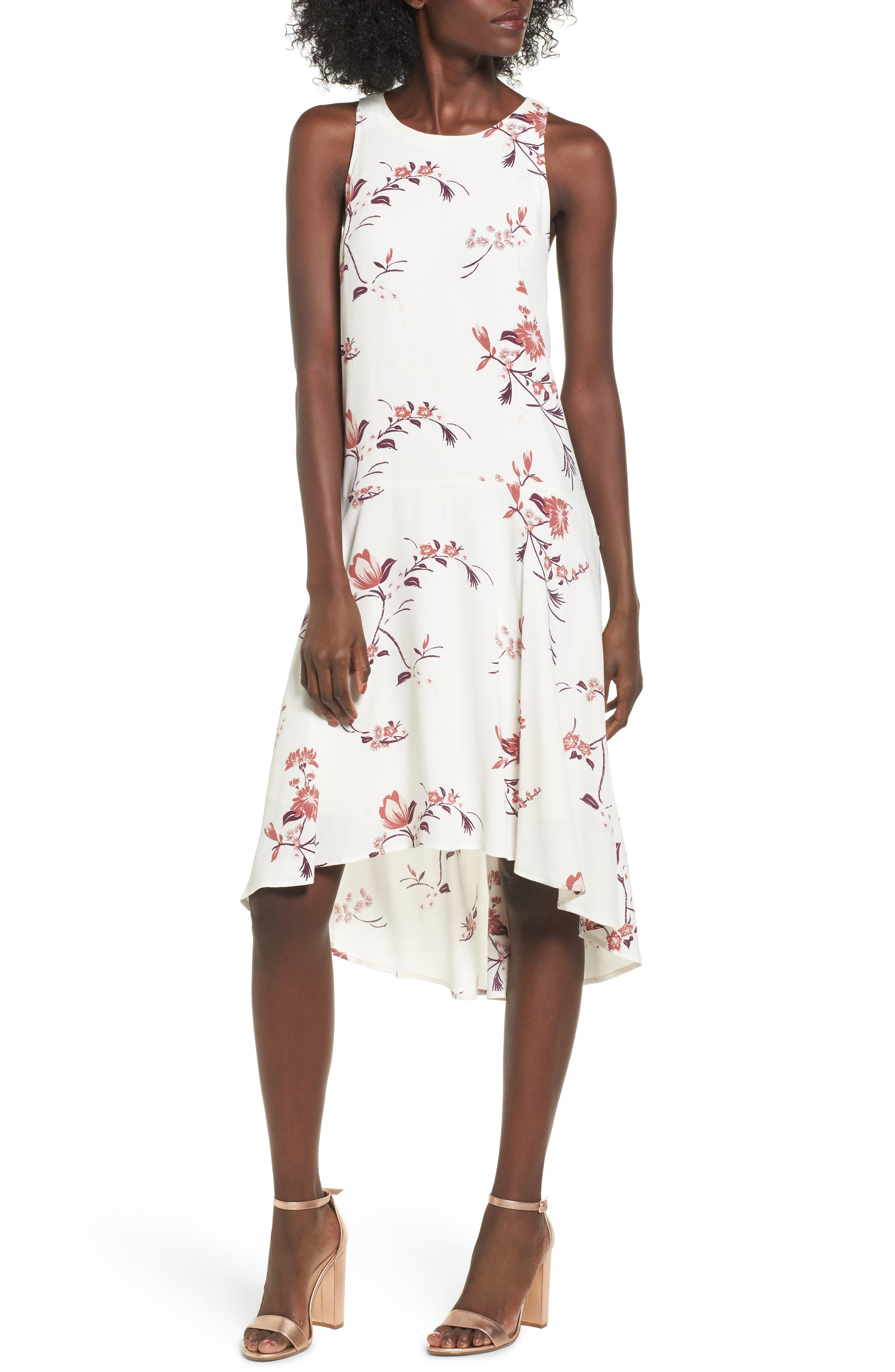 Leith High/Low Shift Dress
