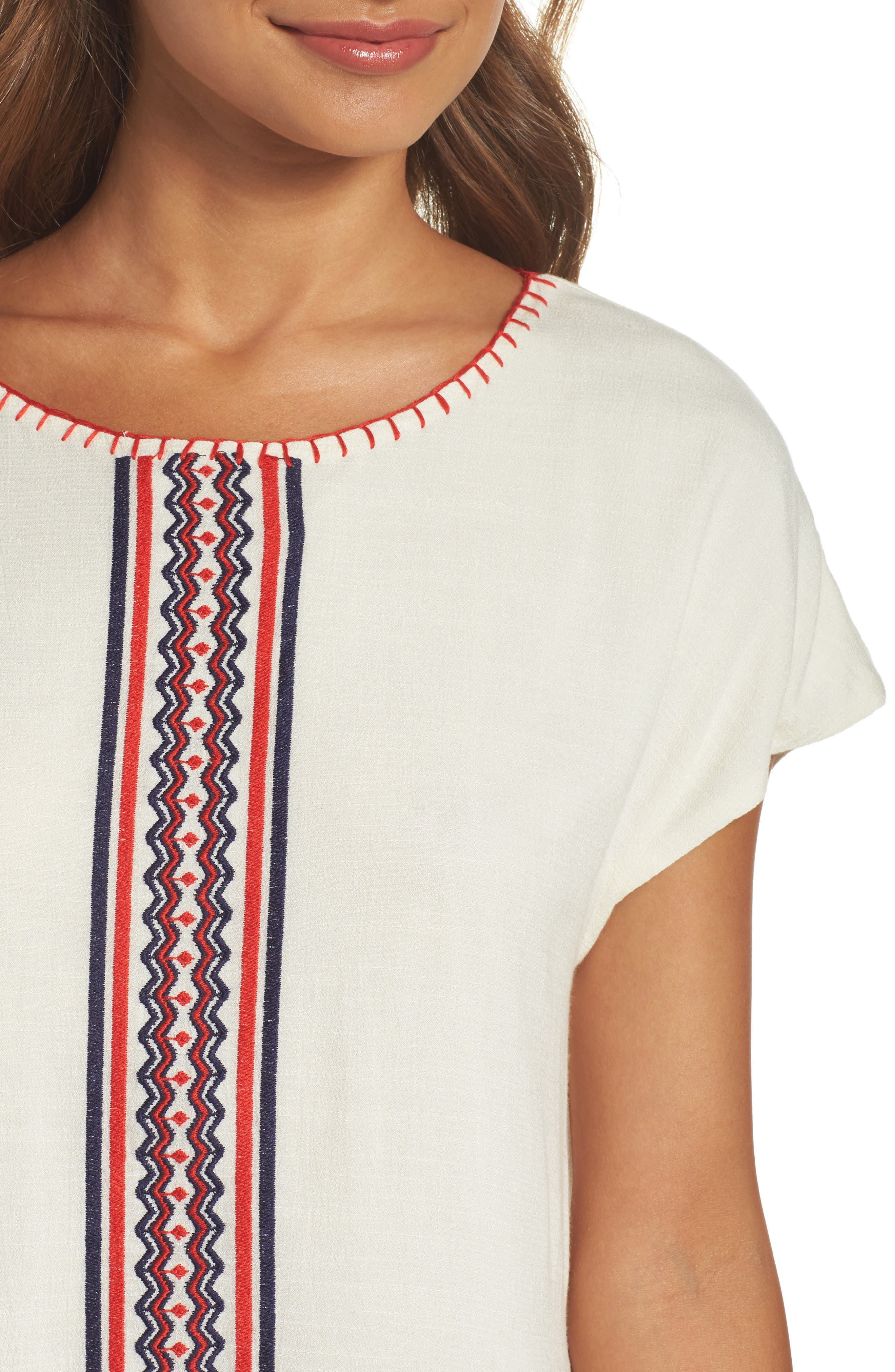 Alternate Image 4  - THML Embroidered Tunic Dress