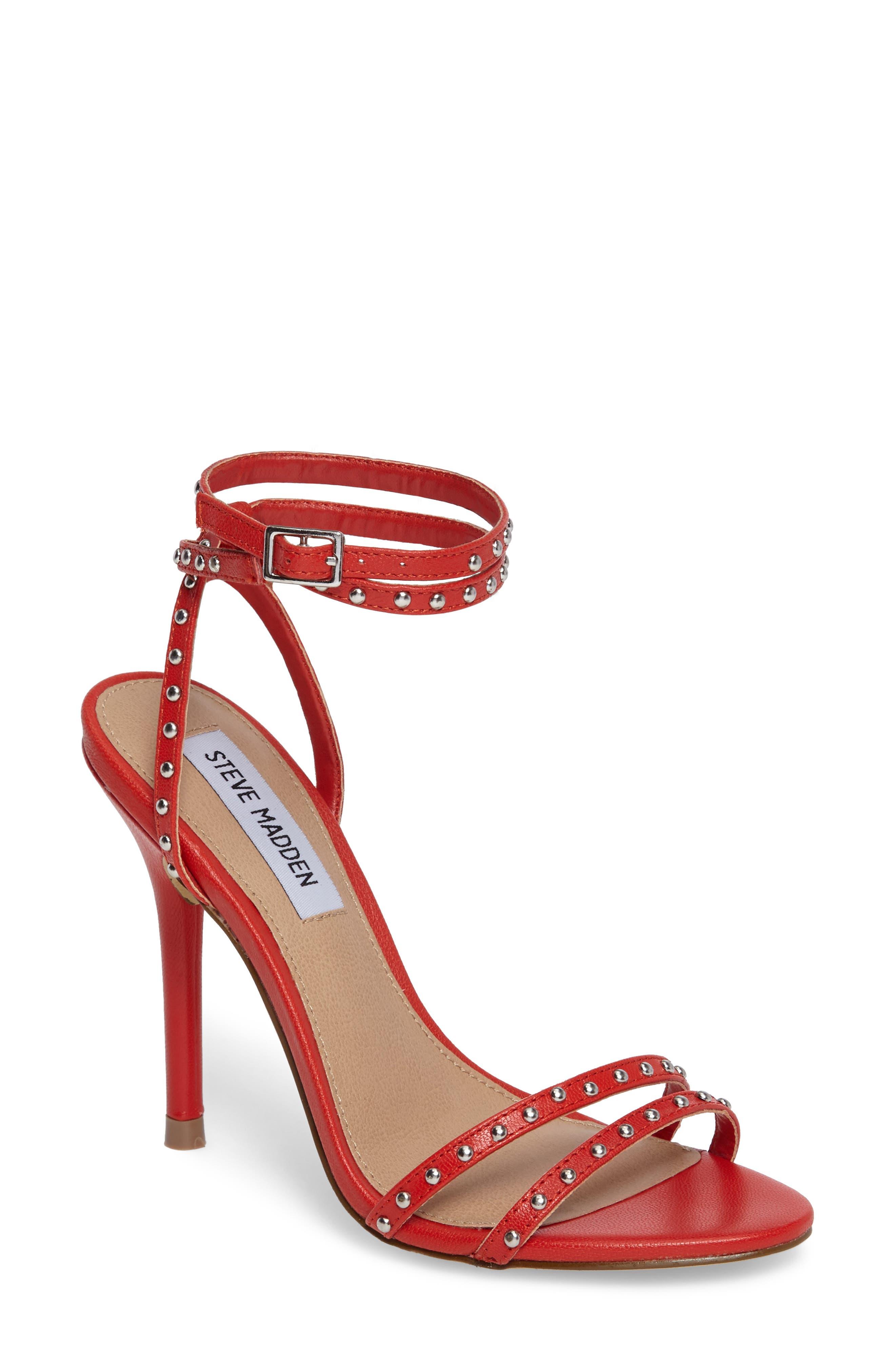 Steve Madden Wish Studded Strappy Sandal (Women)