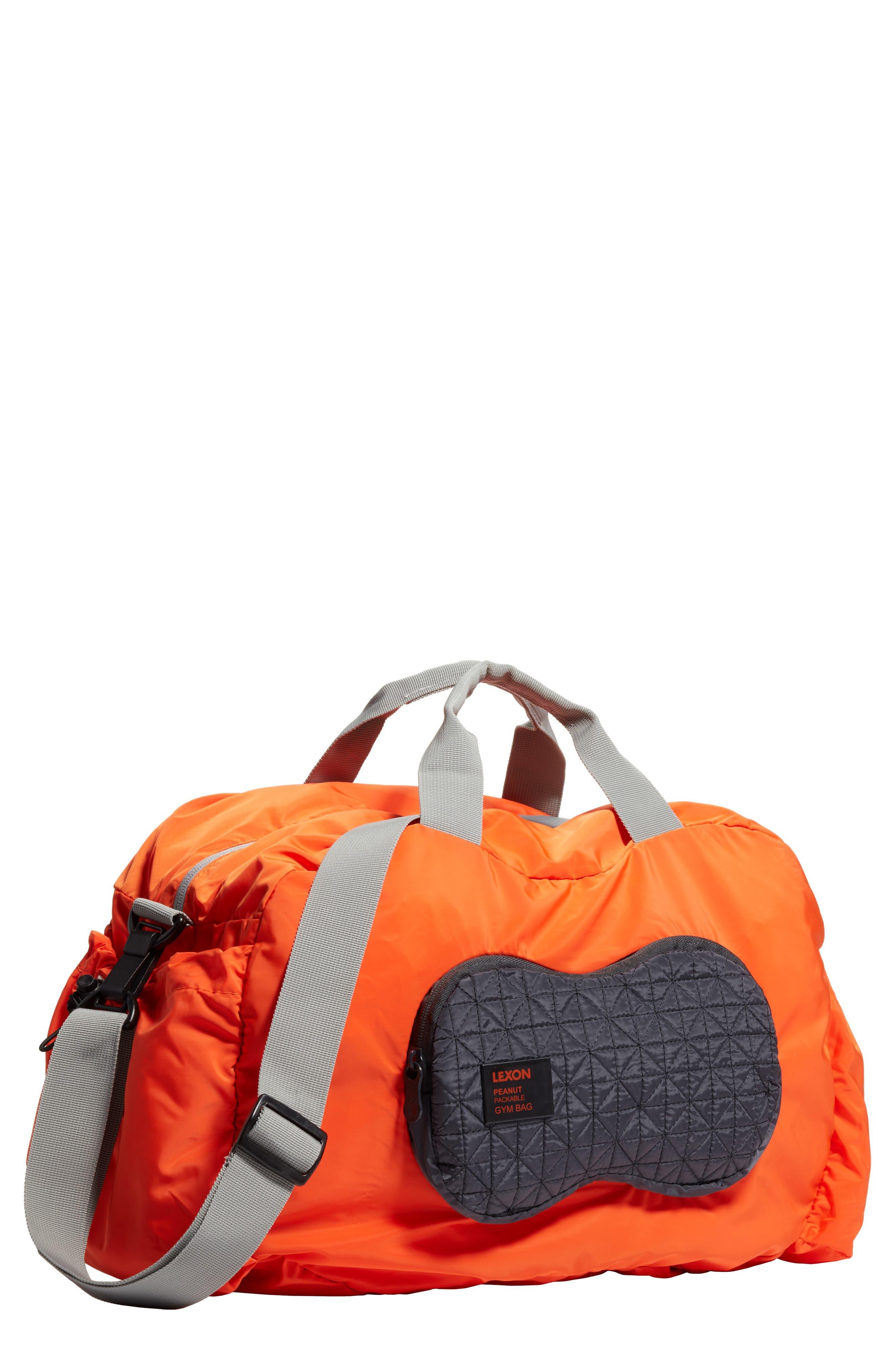LEXON Packable Peanut Duffel Bag