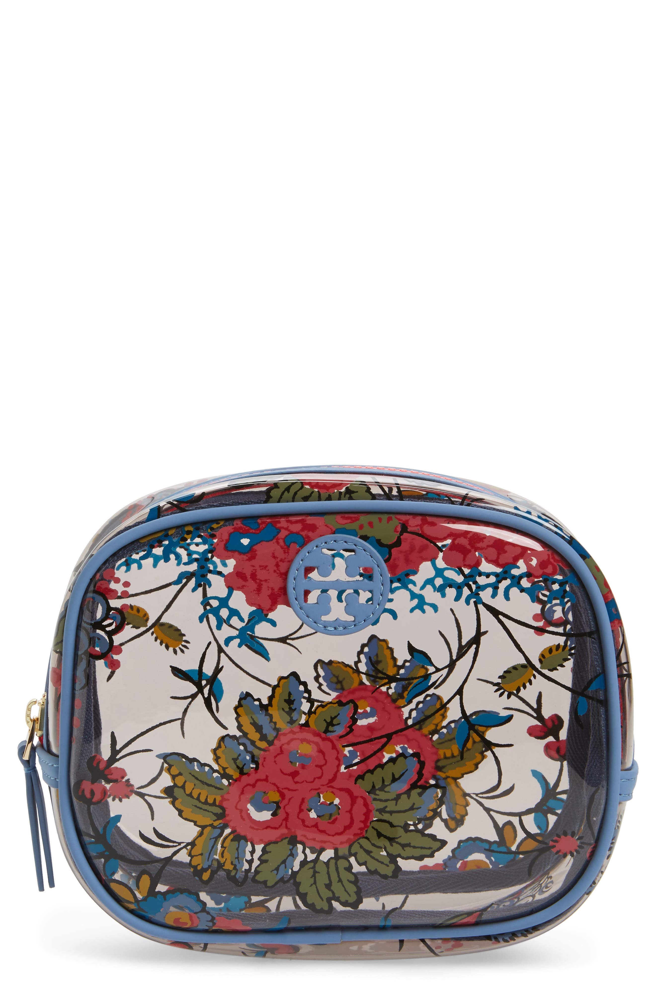 Tory Burch Parker Floral Cosmetics Case
