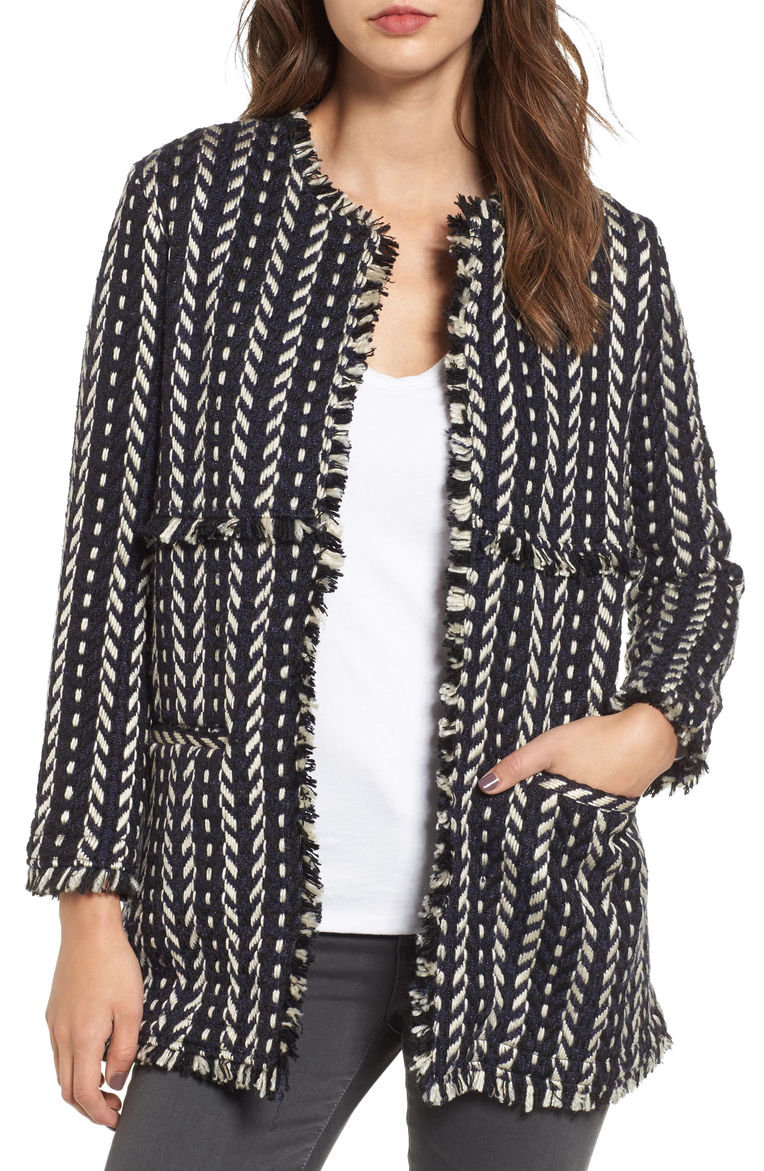 cupcakes and cashmere Bev Woven Jacket