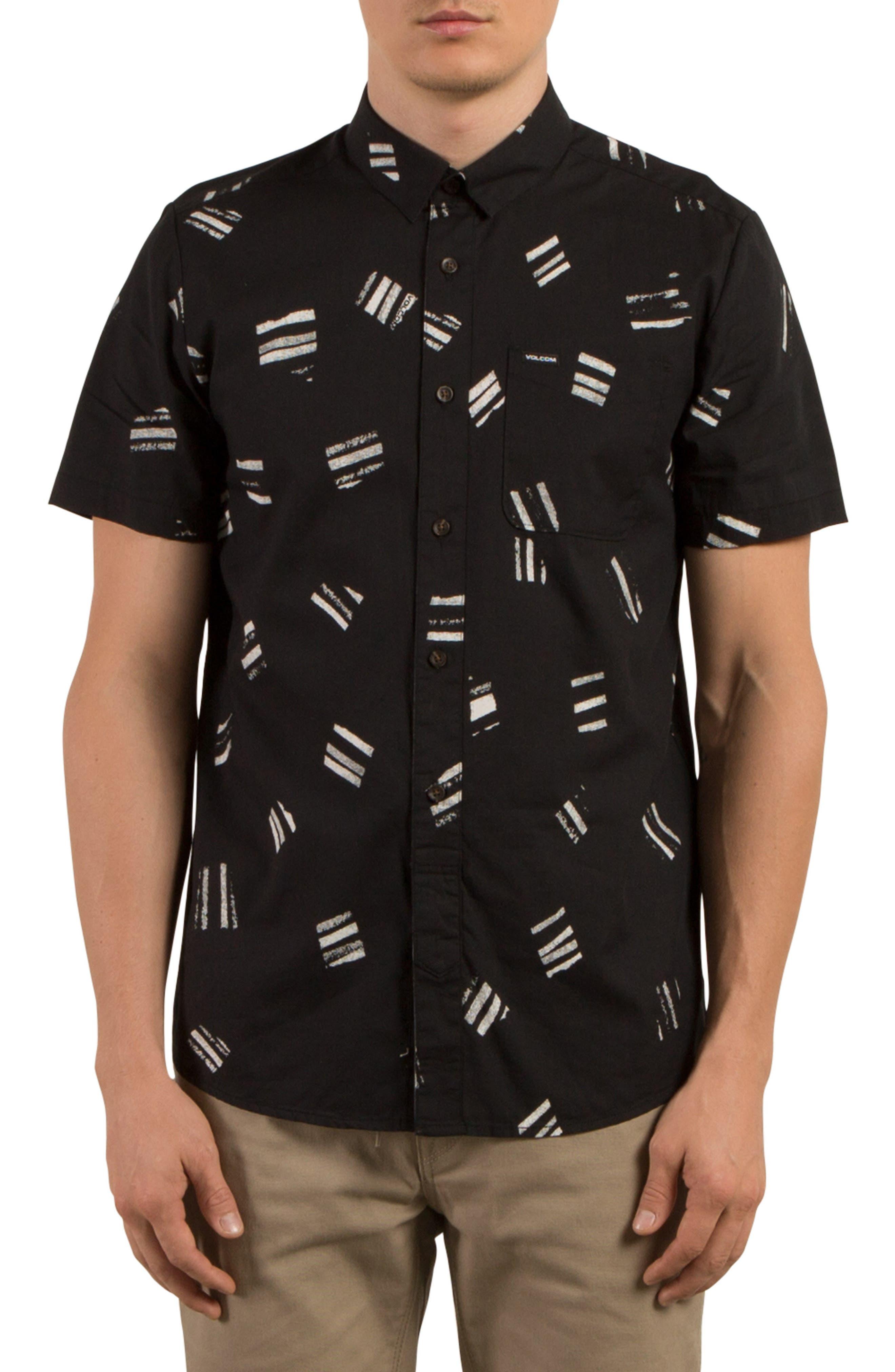 Volcom Micro Warp Print Shirt