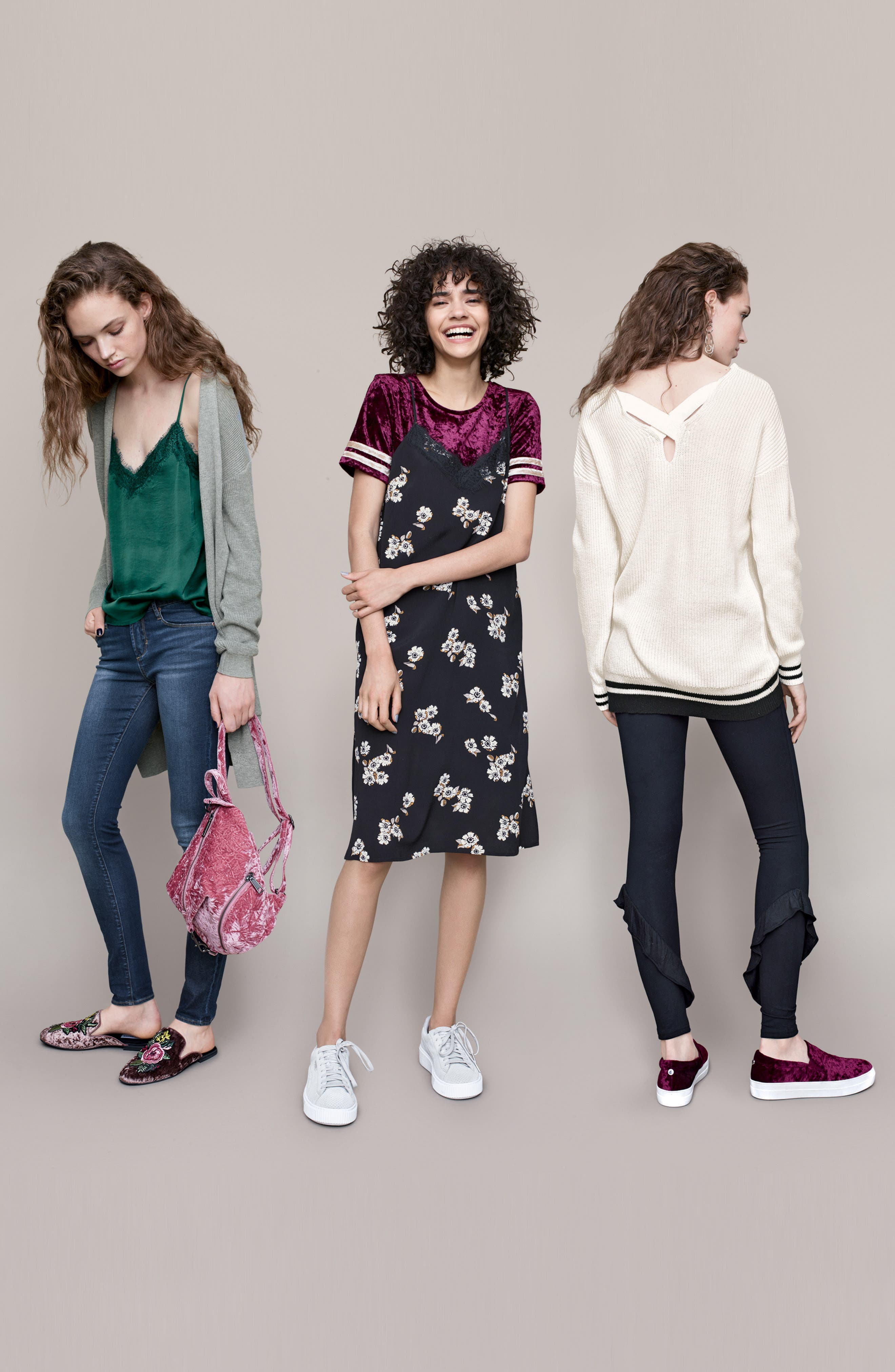 Alternate Image 2  - Articles of Society Mya Skinny Jeans (Glendale)