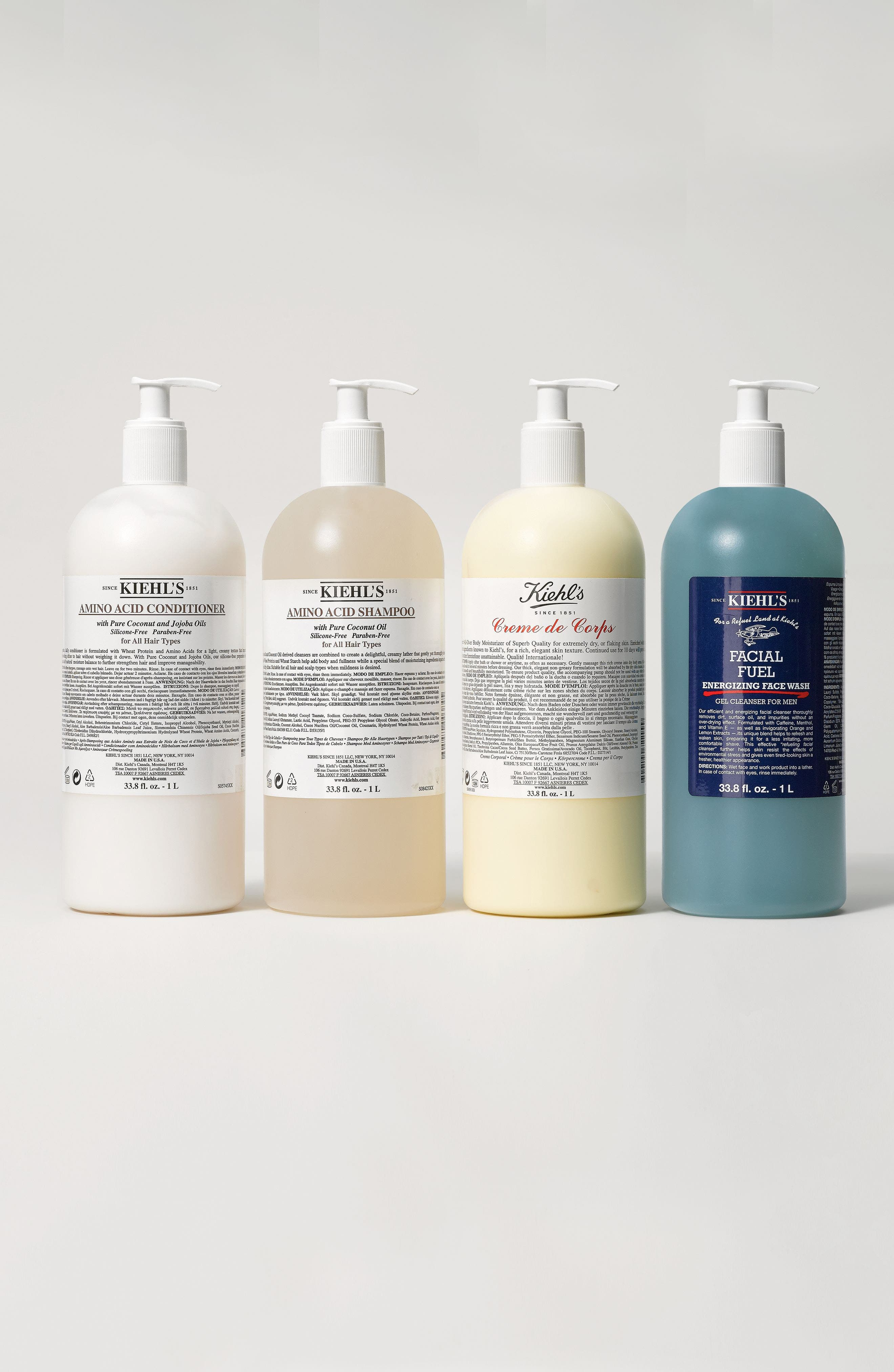 Alternate Image 4  - Kiehl's Since 1851 Jumbo Creme de Corps with Pump ($96 Value)