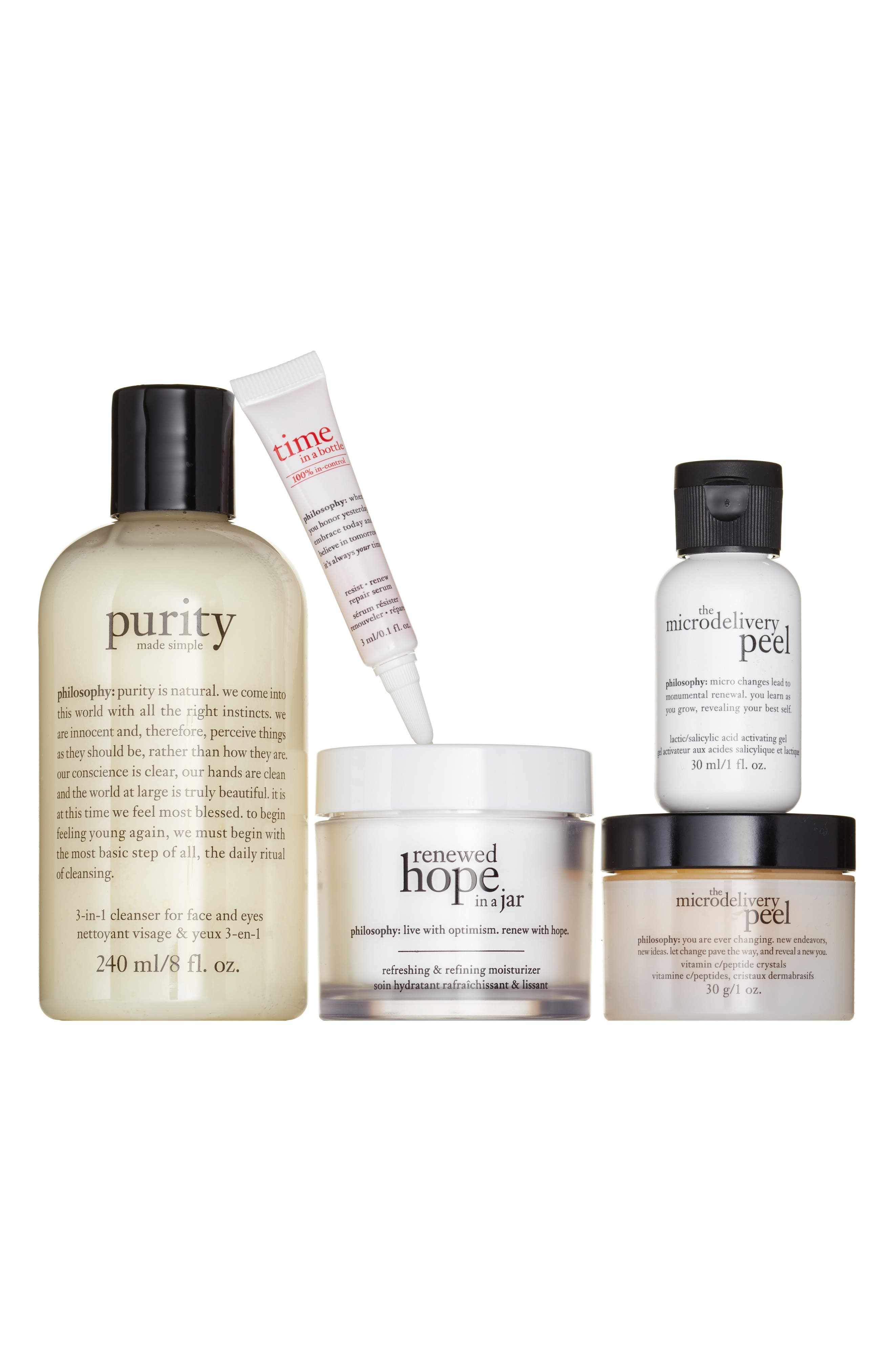 philosophy glowing regimen set ($105 Value)