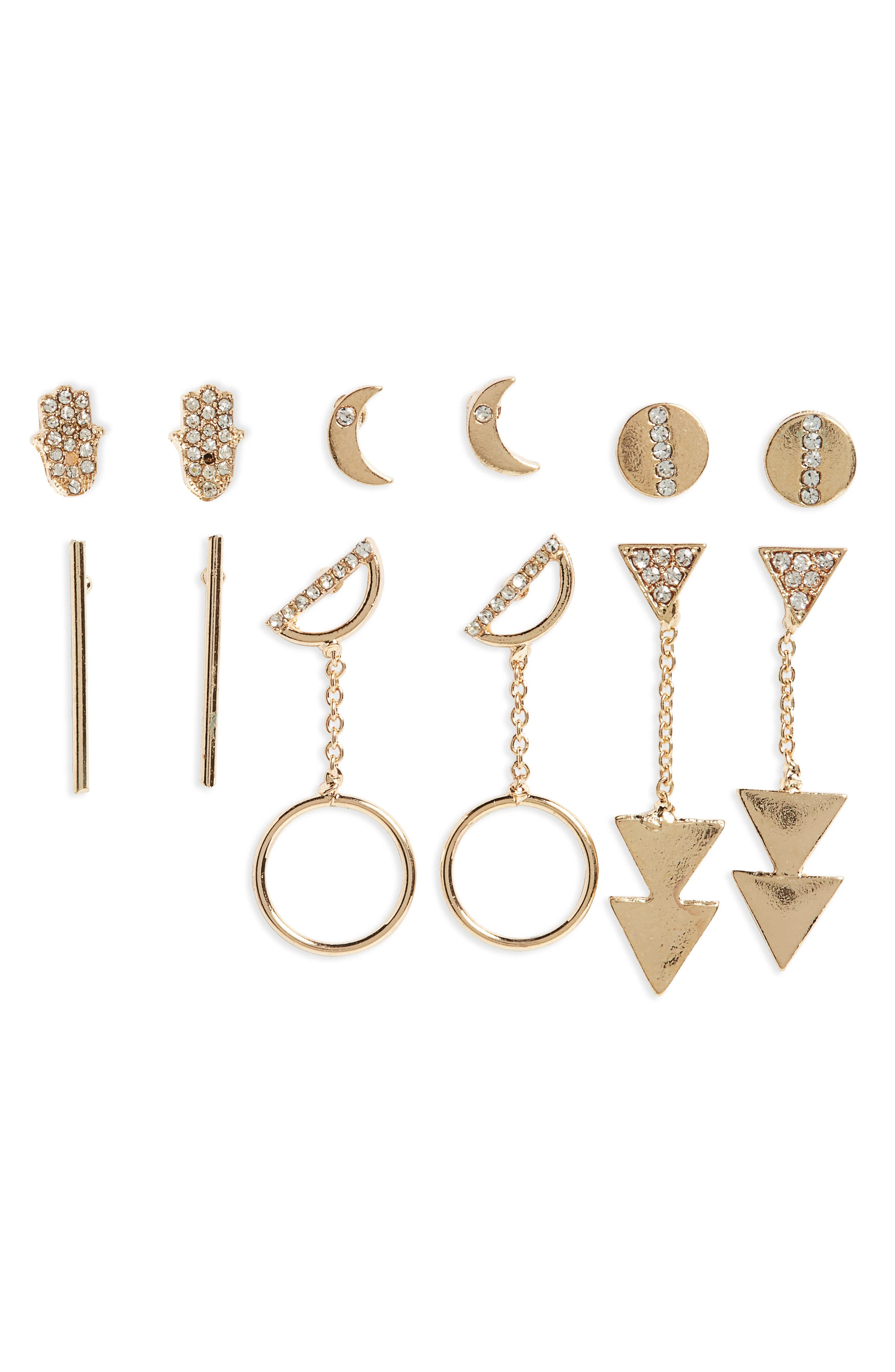 BP. 6-Pack Earrings