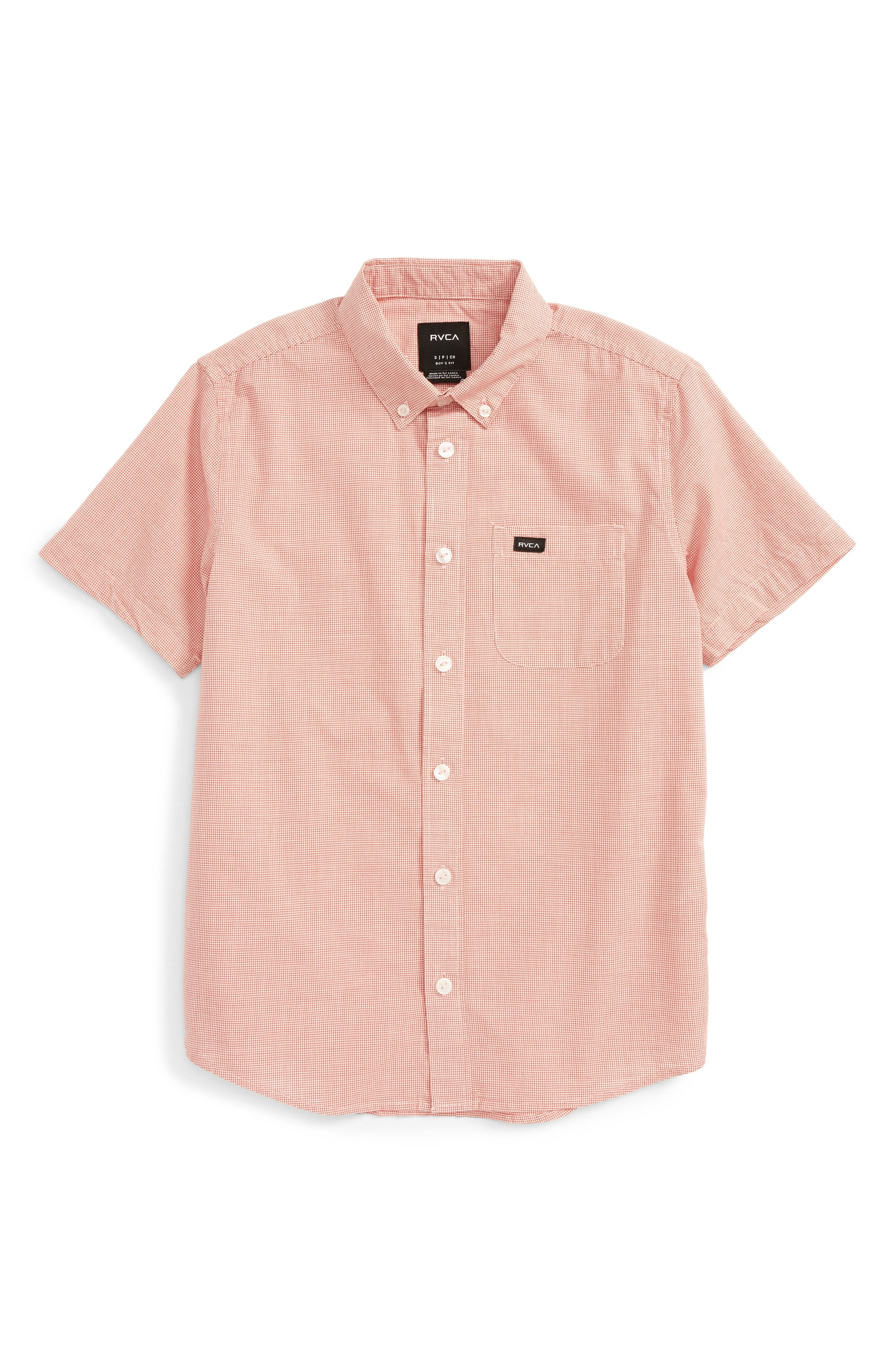 RVCA That'll Do Woven Shirt (Big Boys)