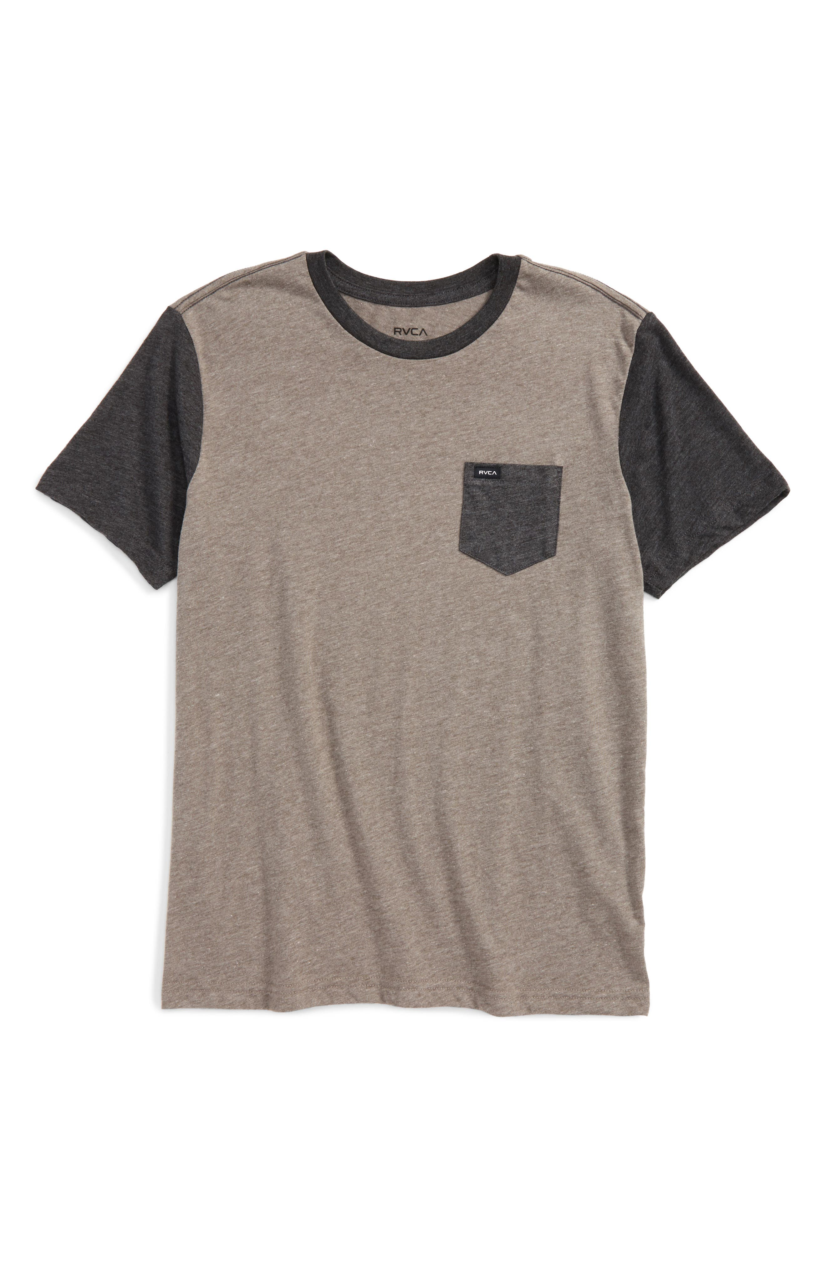 RVCA 'Change Up' Graphic T-Shirt (Big Boys)