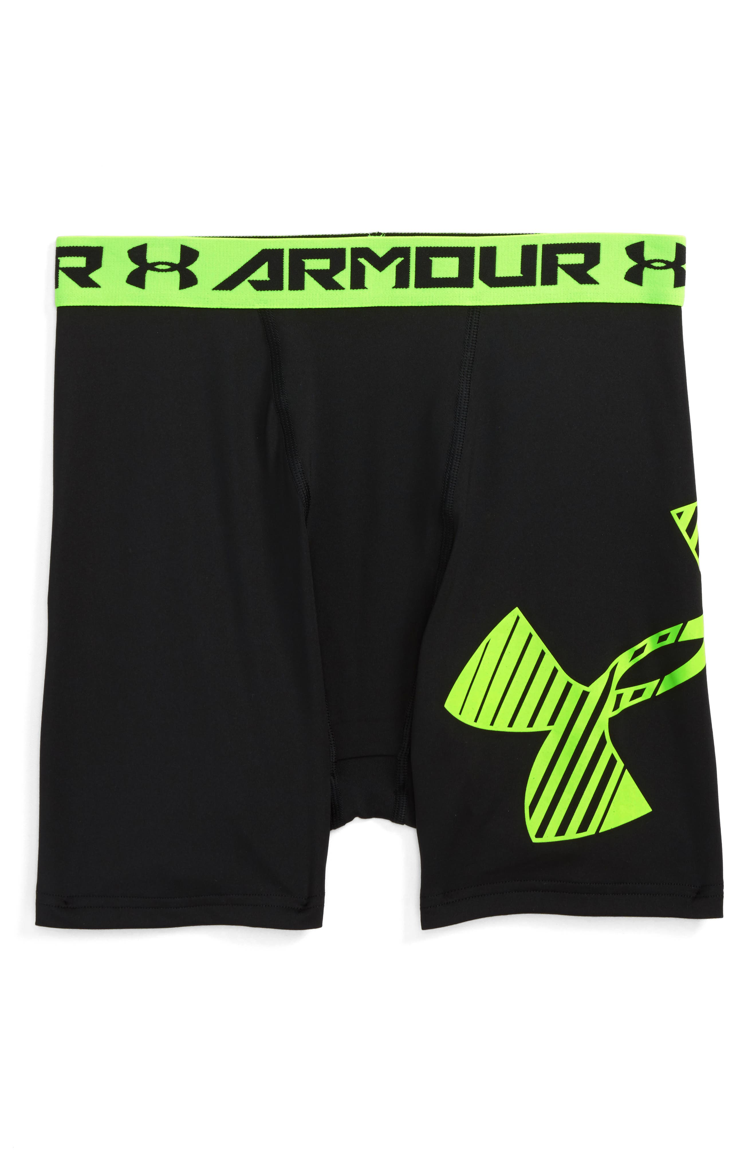 Under Armour HeatGear® Mid Shorts (Little Boys & Big Boys)